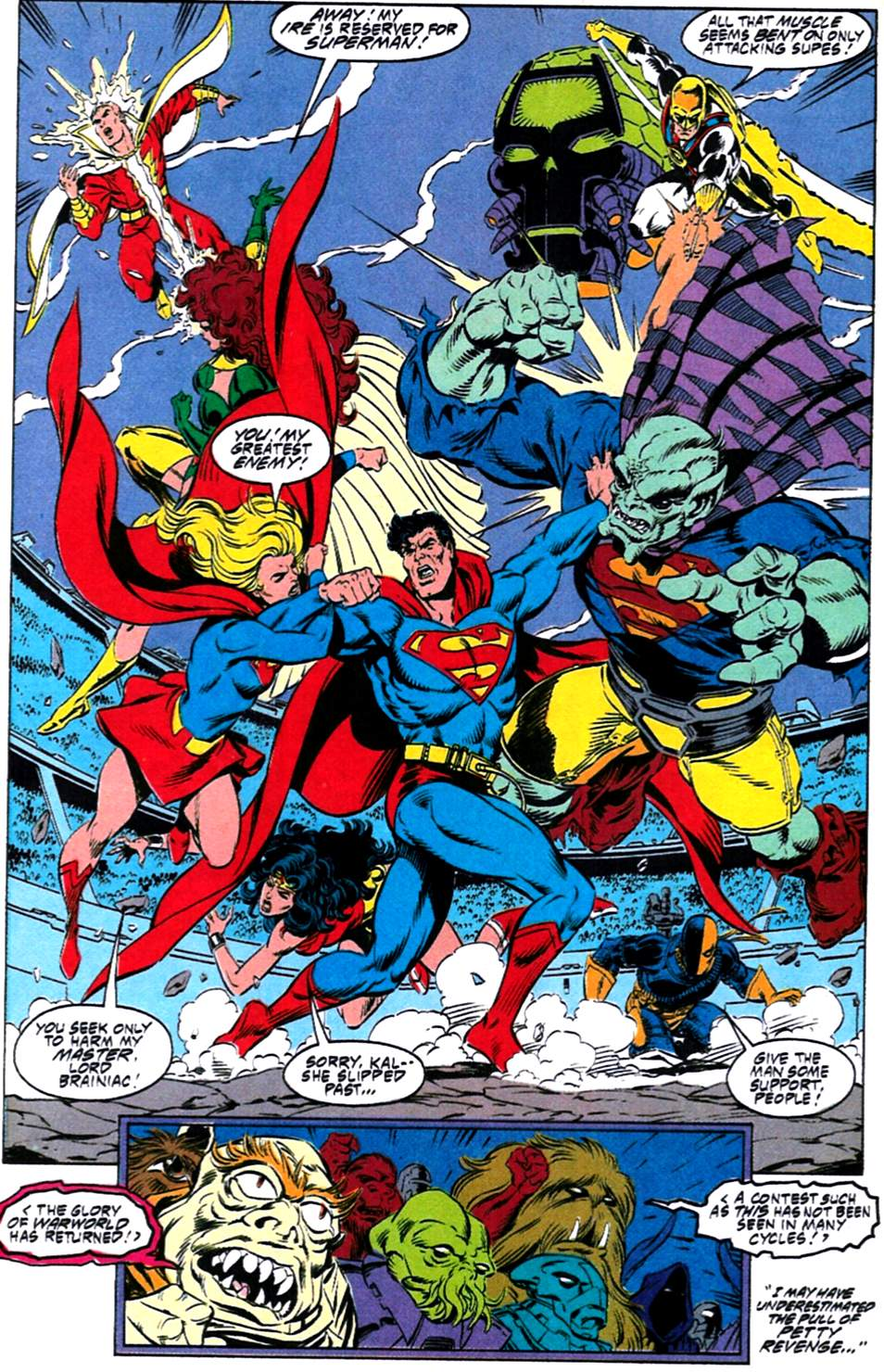 Read online Adventures of Superman (1987) comic -  Issue #488 - 19