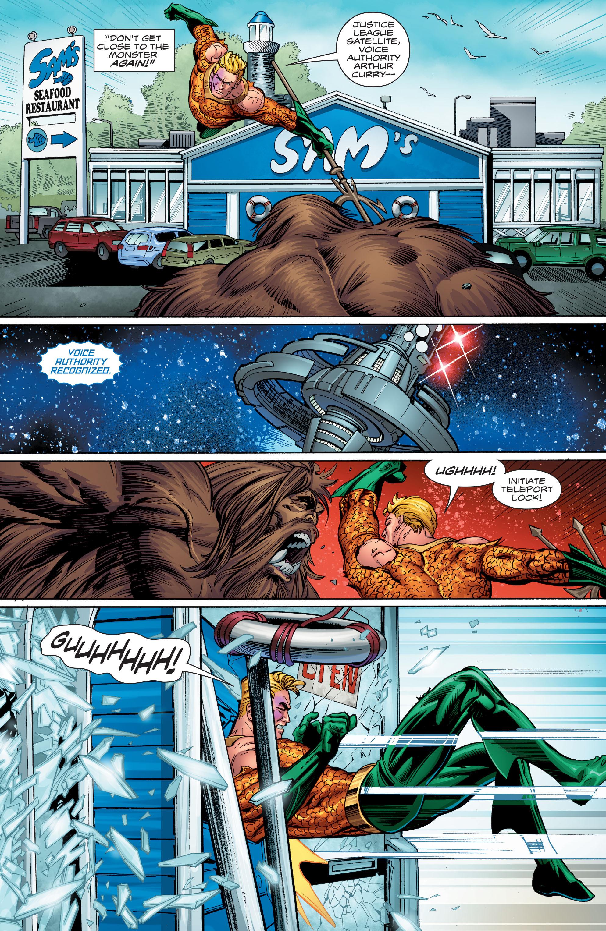 Read online Aquaman (2016) comic -  Issue #9 - 18
