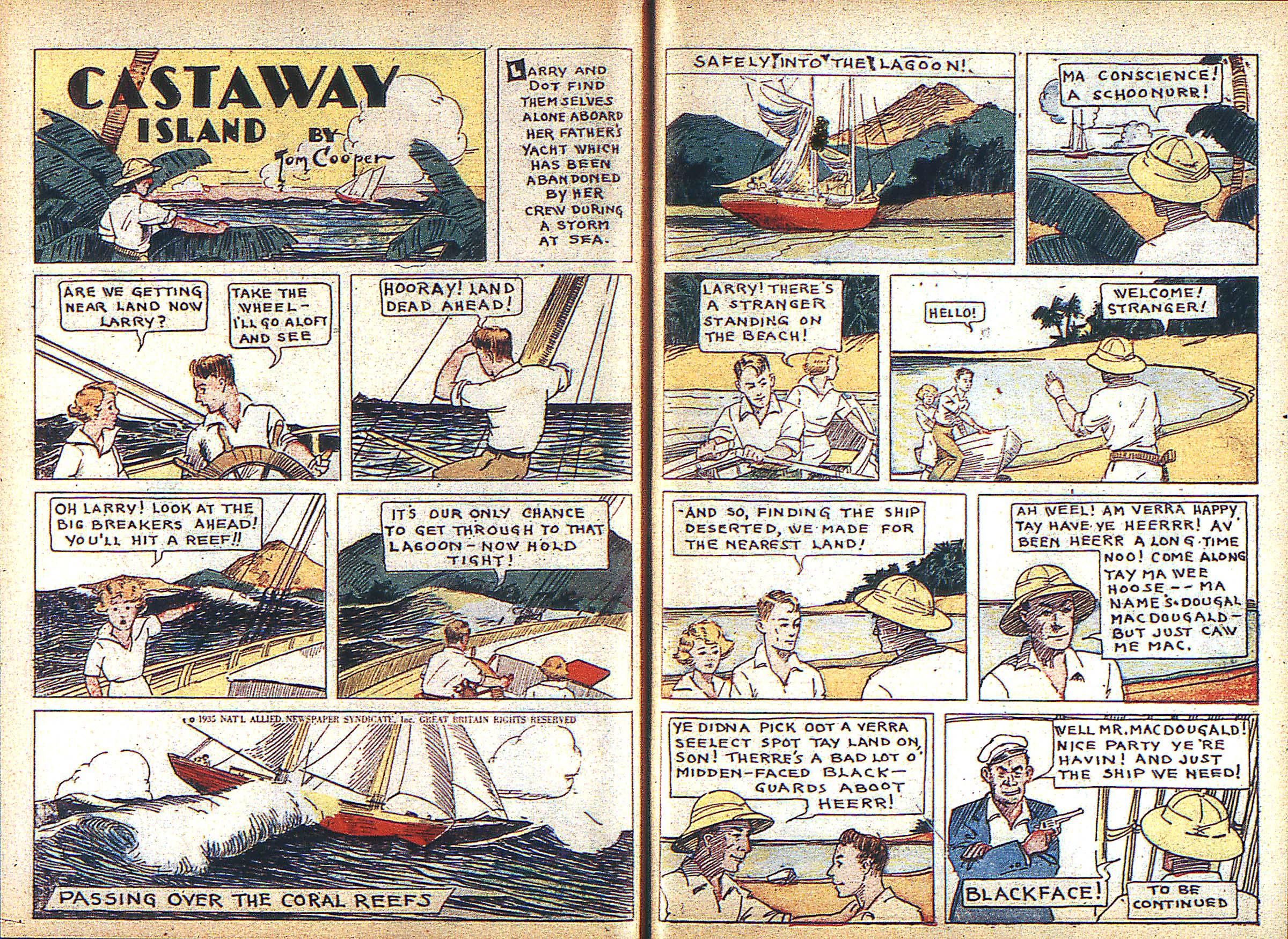 Read online Adventure Comics (1938) comic -  Issue #3 - 36