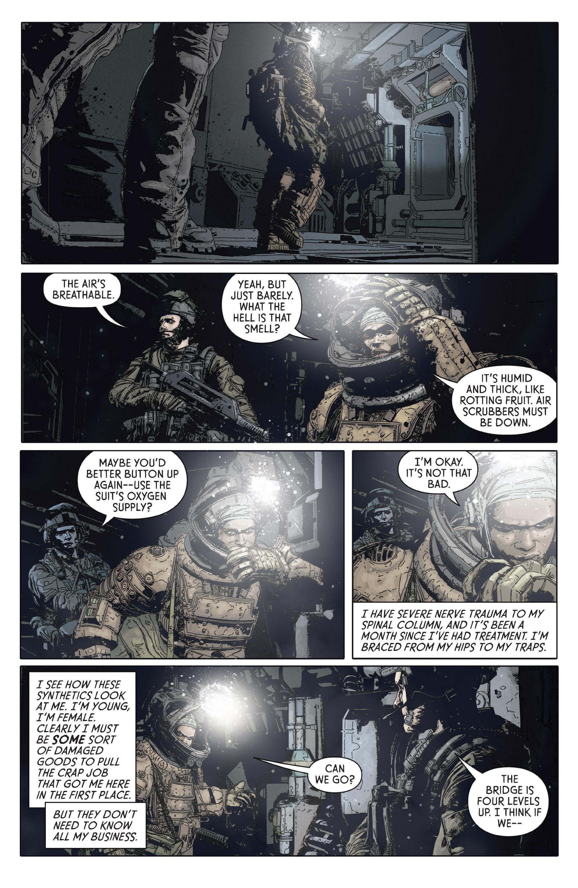 Read online Aliens: Defiance comic -  Issue #2 - 7