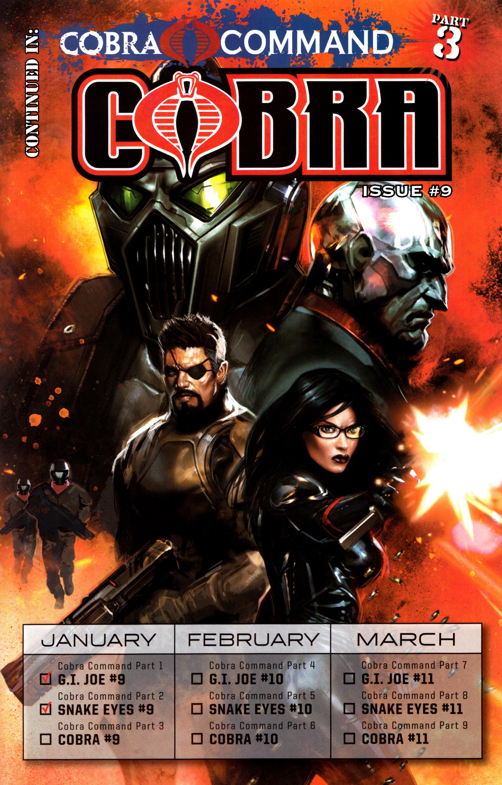 Read online G.I. Joe: Snake Eyes comic -  Issue #9 - 26