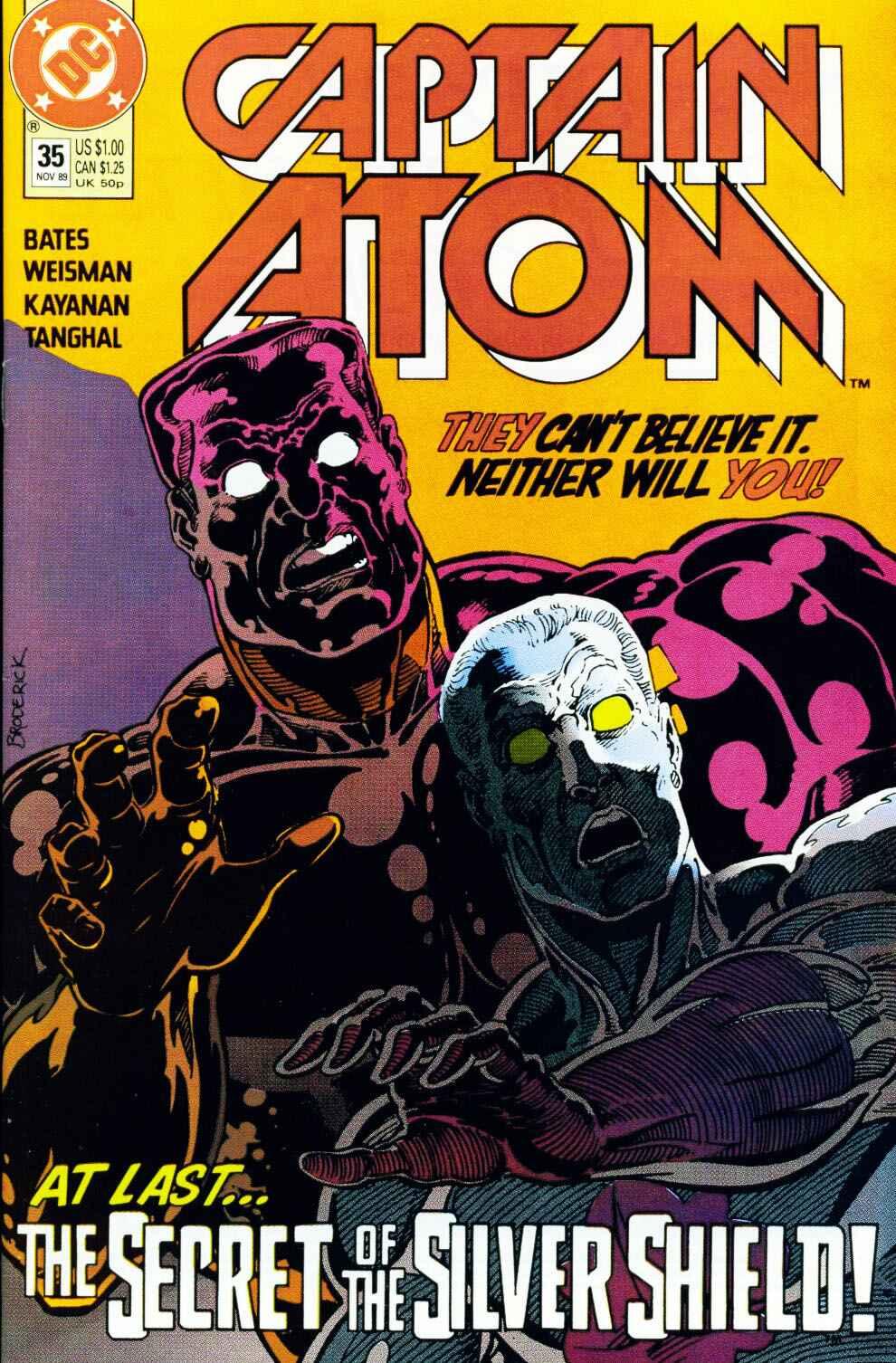 Captain Atom (1987) 35 Page 1