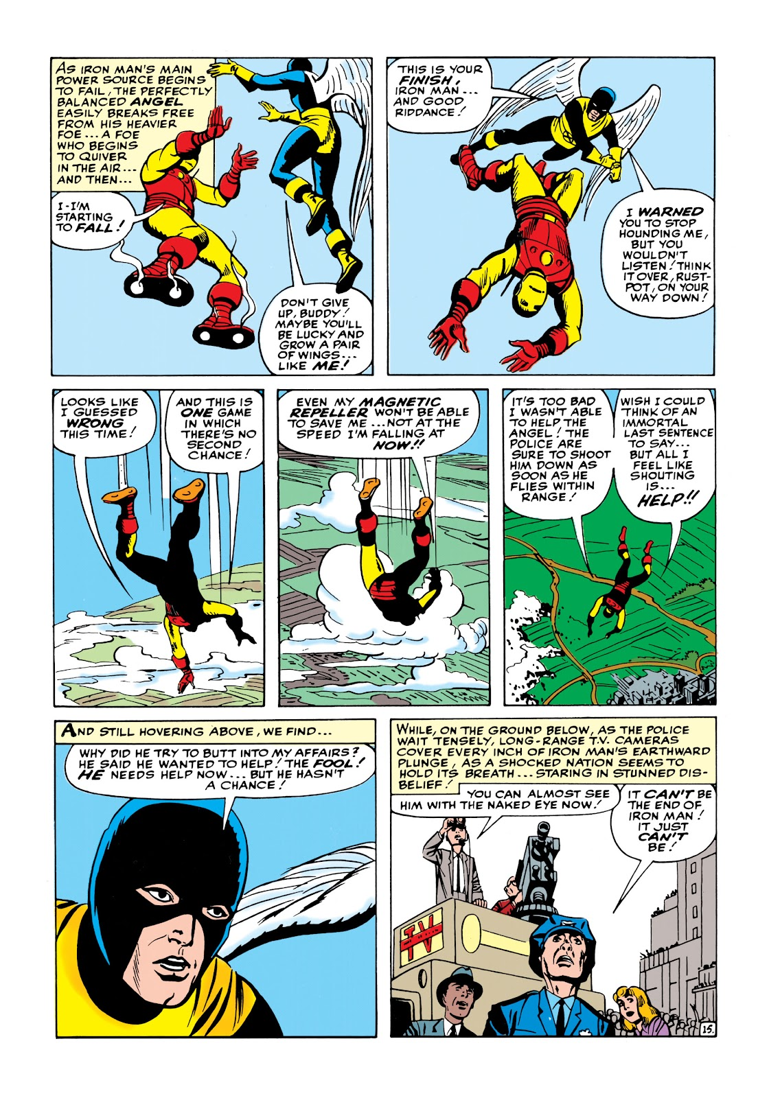 Read online Marvel Masterworks: The Invincible Iron Man comic -  Issue # TPB 1 (Part 2) - 73