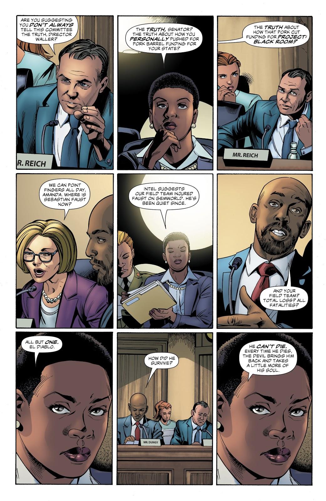 Read online Suicide Squad Black Files comic -  Issue #4 - 24