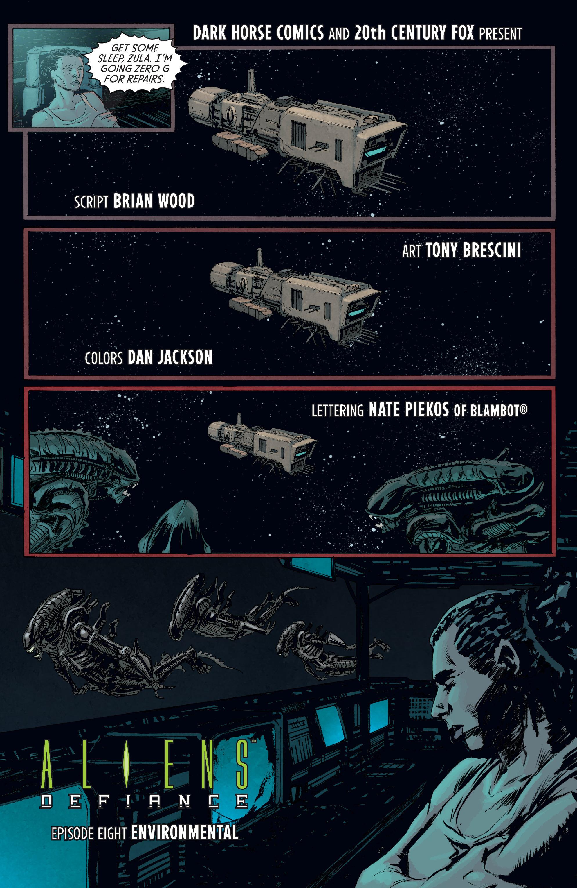 Read online Aliens: Defiance comic -  Issue #8 - 7