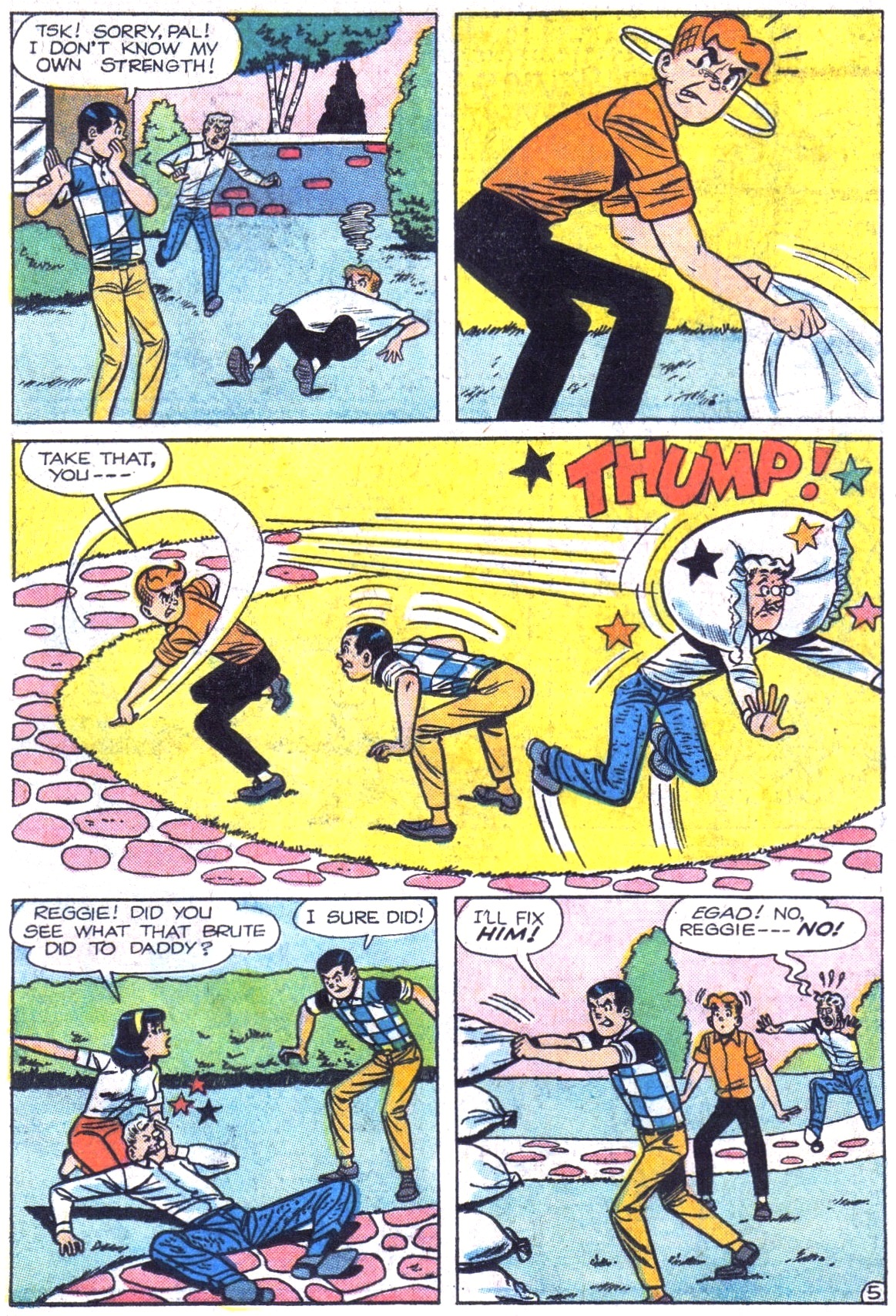 Read online Archie (1960) comic -  Issue #161 - 7