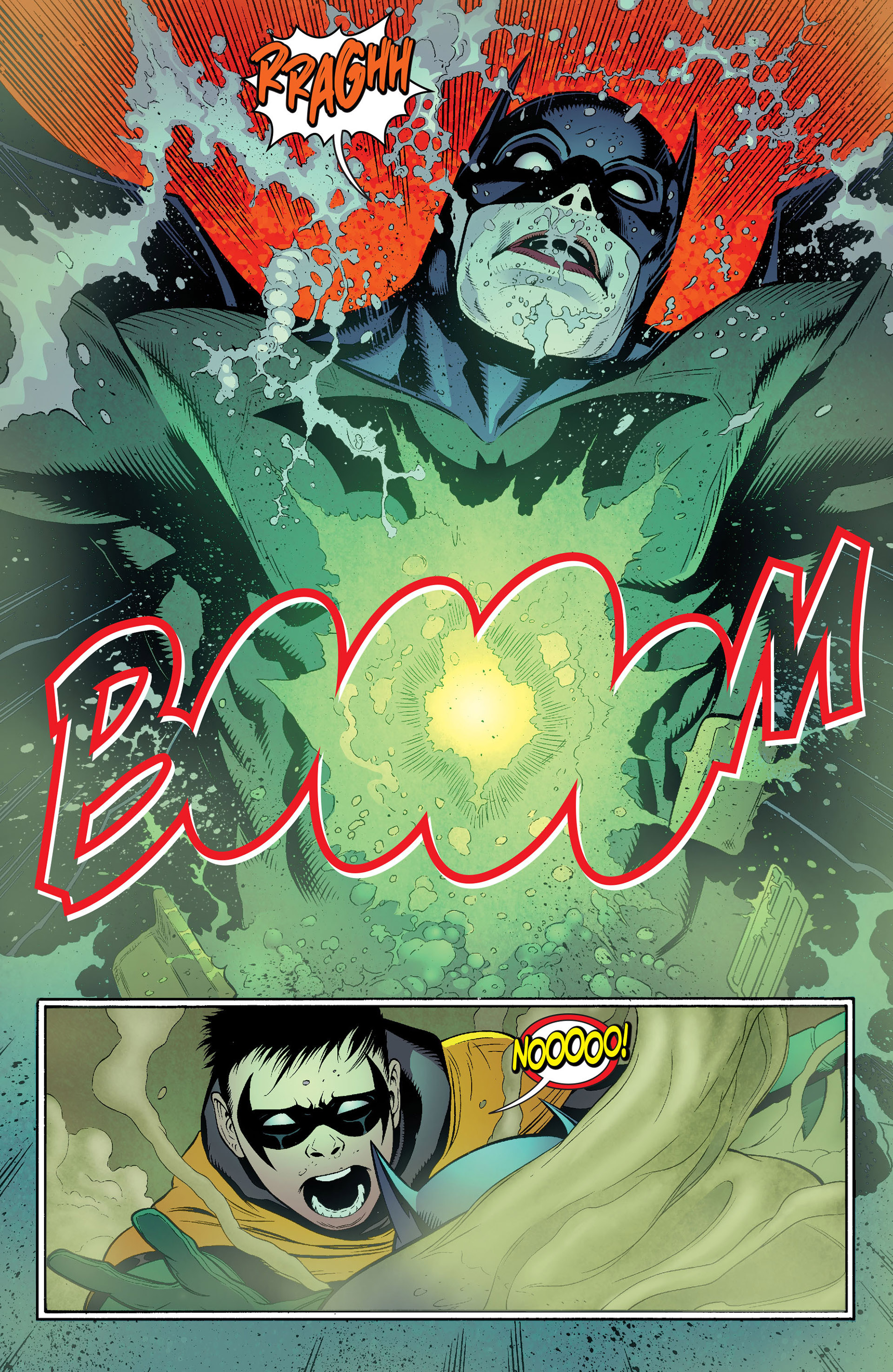 Read online Batman and Robin (2011) comic -  Issue #16 - 16