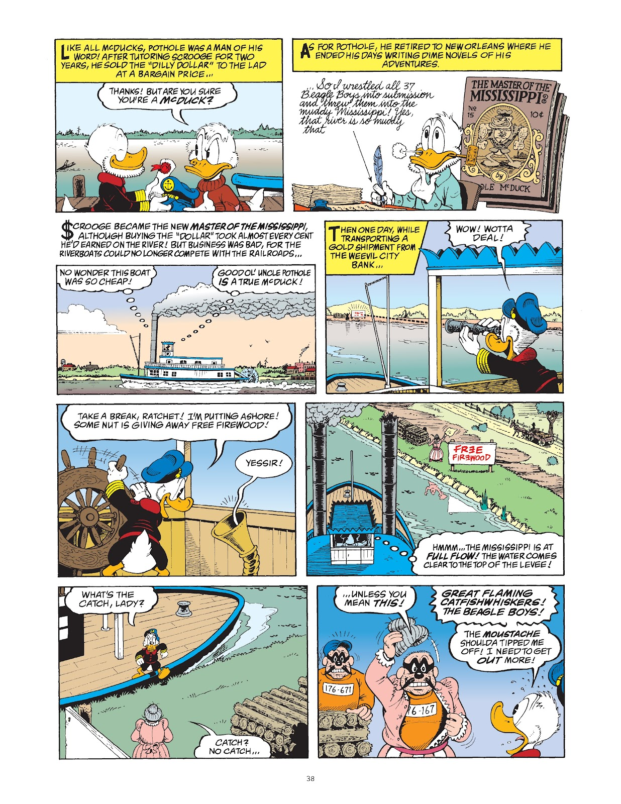 Read online The Complete Life and Times of Scrooge McDuck comic -  Issue # TPB 1 (Part 1) - 45