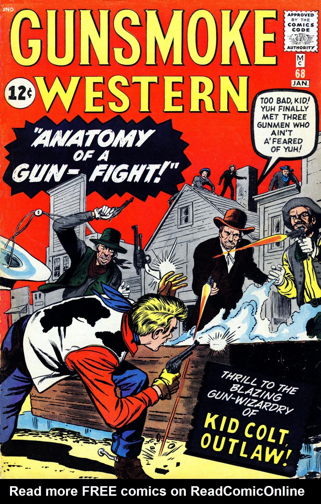 Gunsmoke Western 68 Page 1