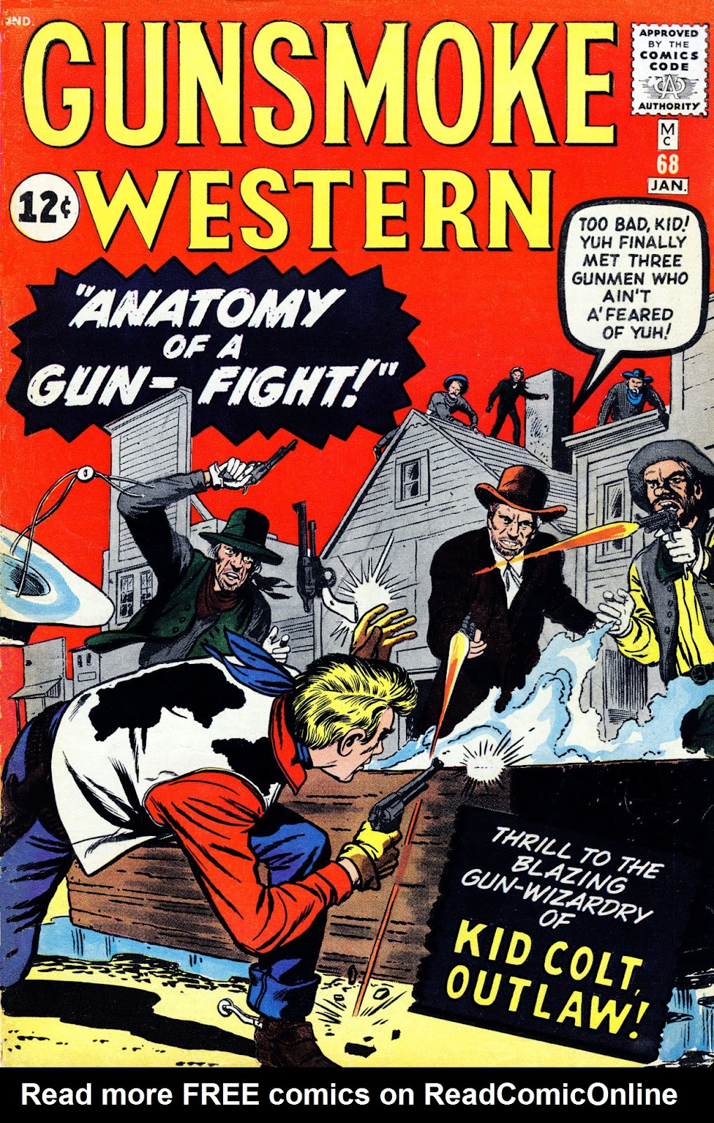 Gunsmoke Western issue 68 - Page 1
