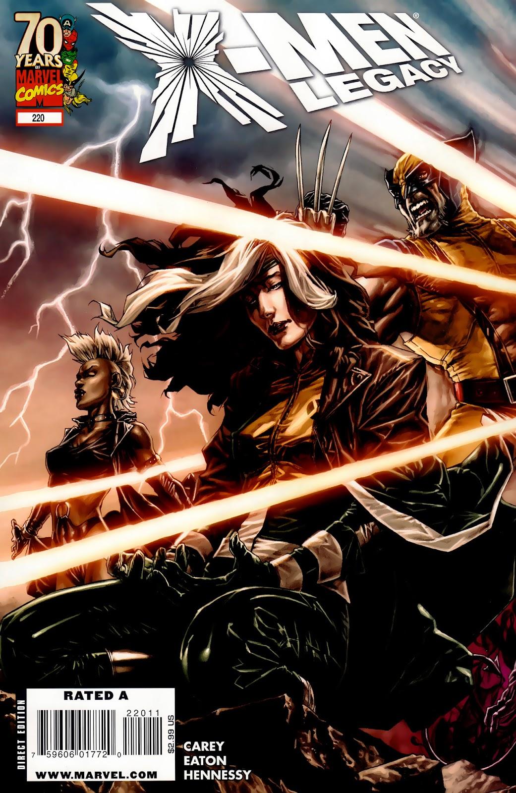 X-Men Legacy (2008) 220 Page 1