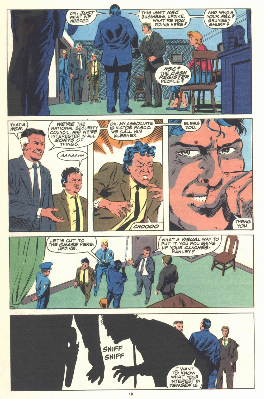 Read online Justice (1986) comic -  Issue #21 - 12