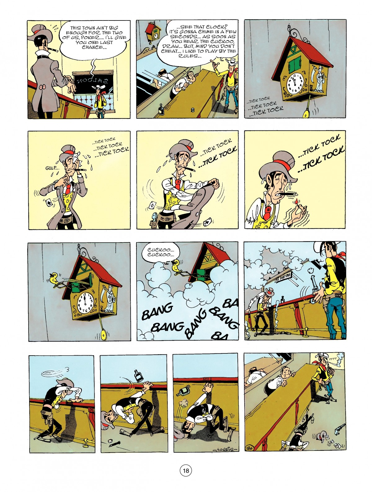 Read online A Lucky Luke Adventure comic -  Issue #44 - 18