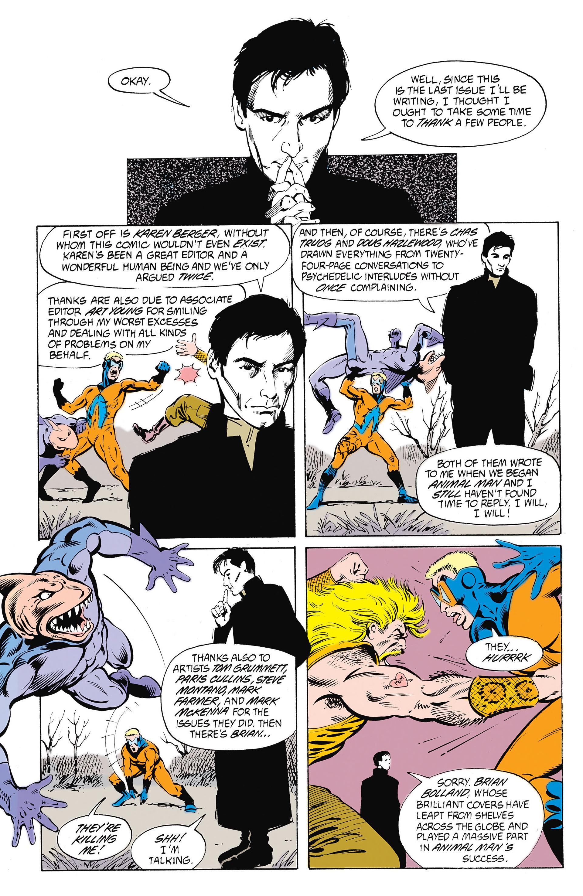 Read online Animal Man (1988) comic -  Issue #26 - 17