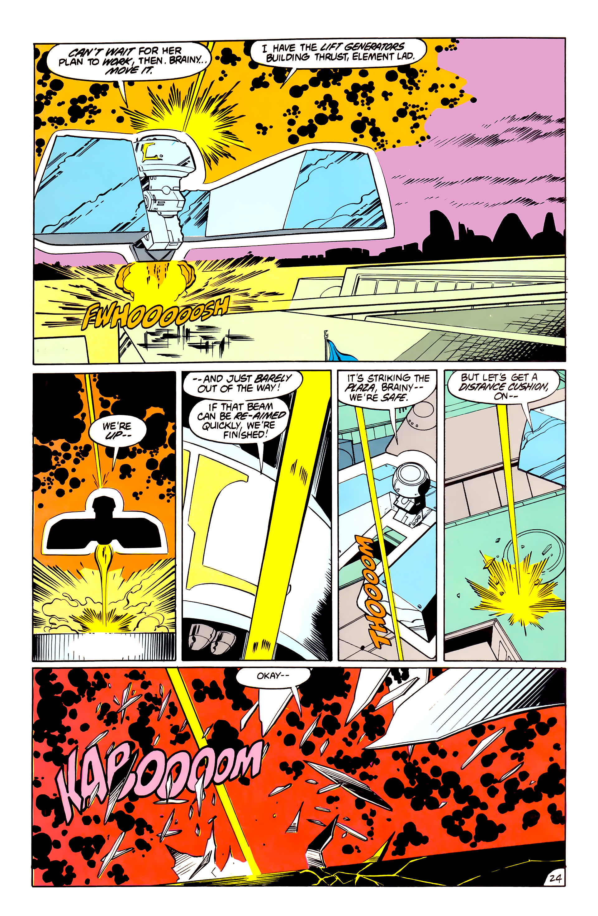 Legion of Super-Heroes (1984) 40 Page 24