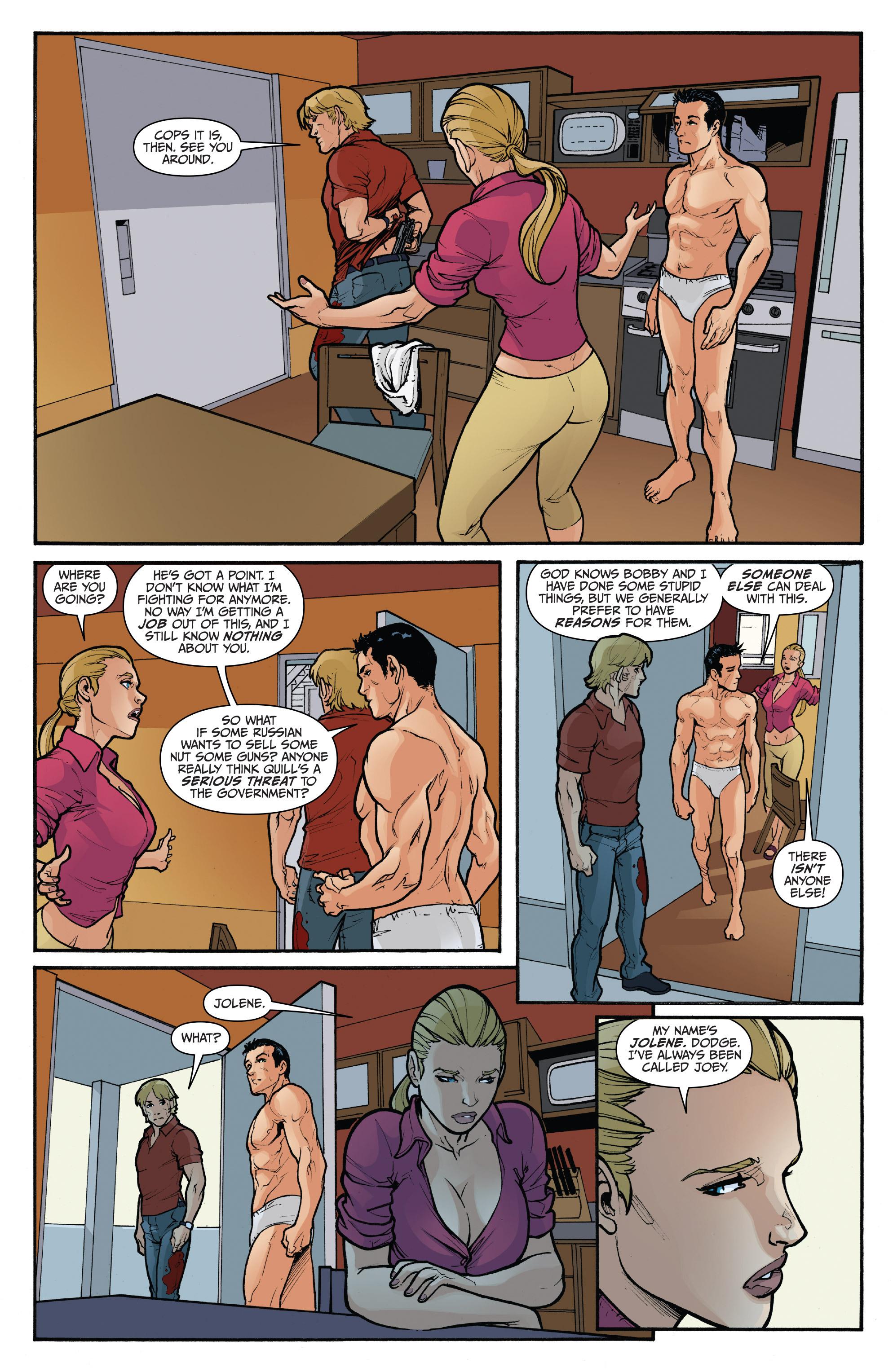 Read online 3 Guns comic -  Issue #5 - 13