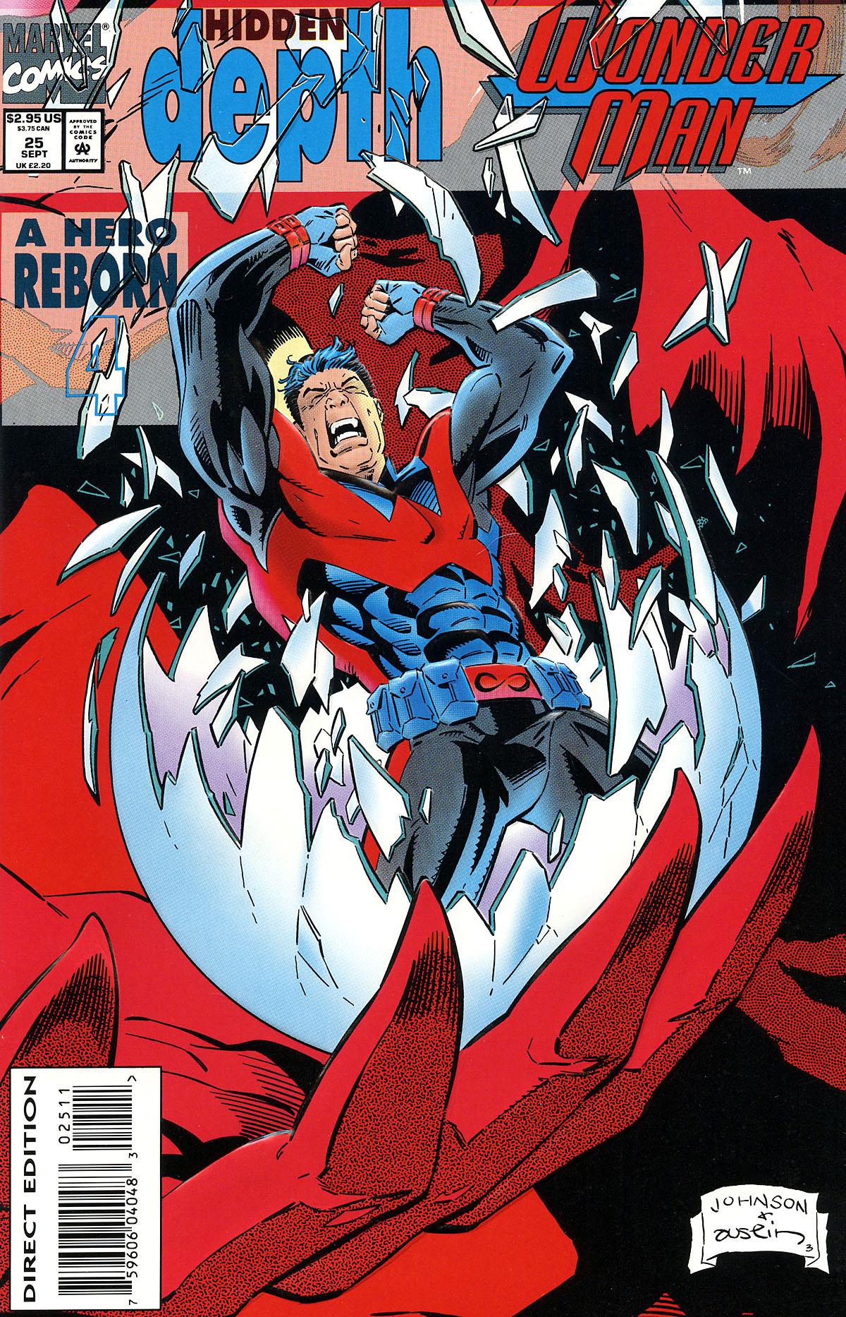 Read online Wonder Man (1991) comic -  Issue #25 - 1