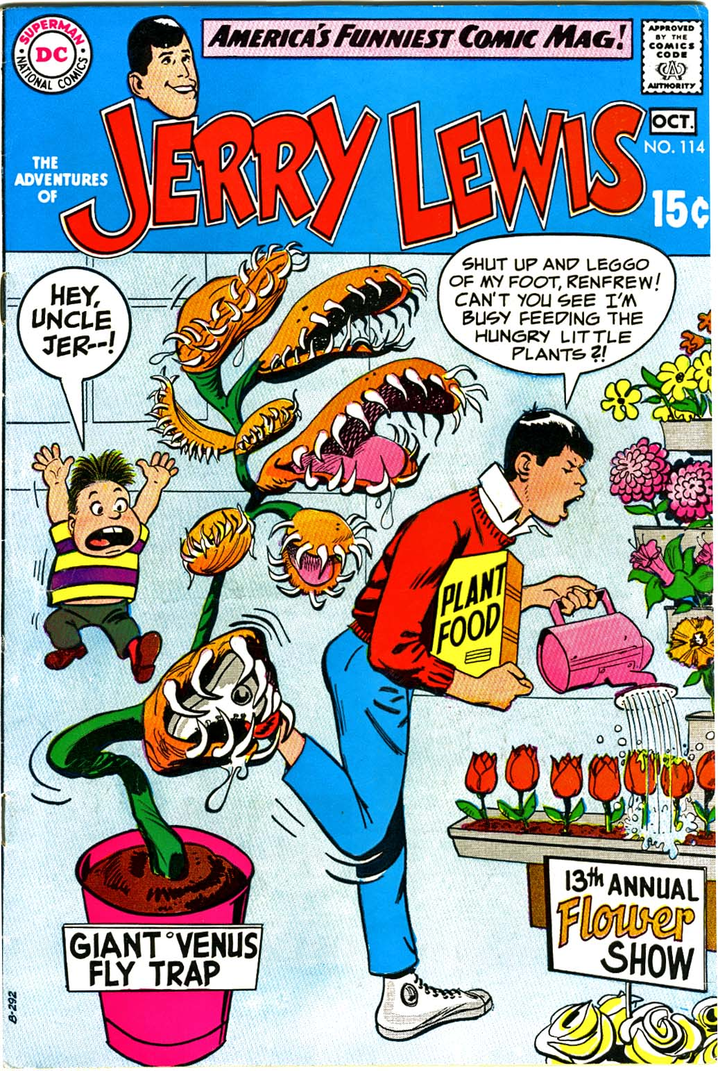 The Adventures of Jerry Lewis 114 Page 1