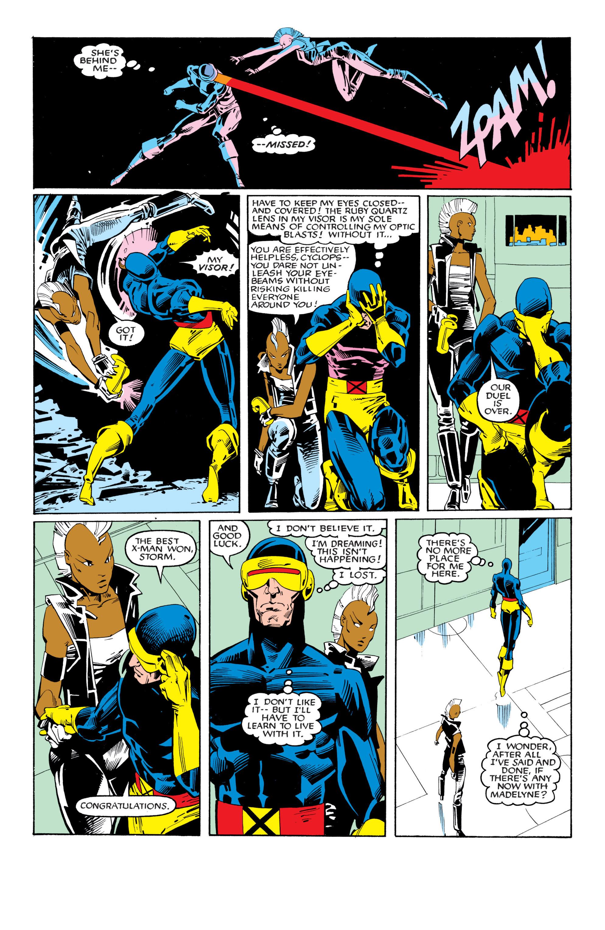 Read online Uncanny X-Men (1963) comic -  Issue #201 - 21