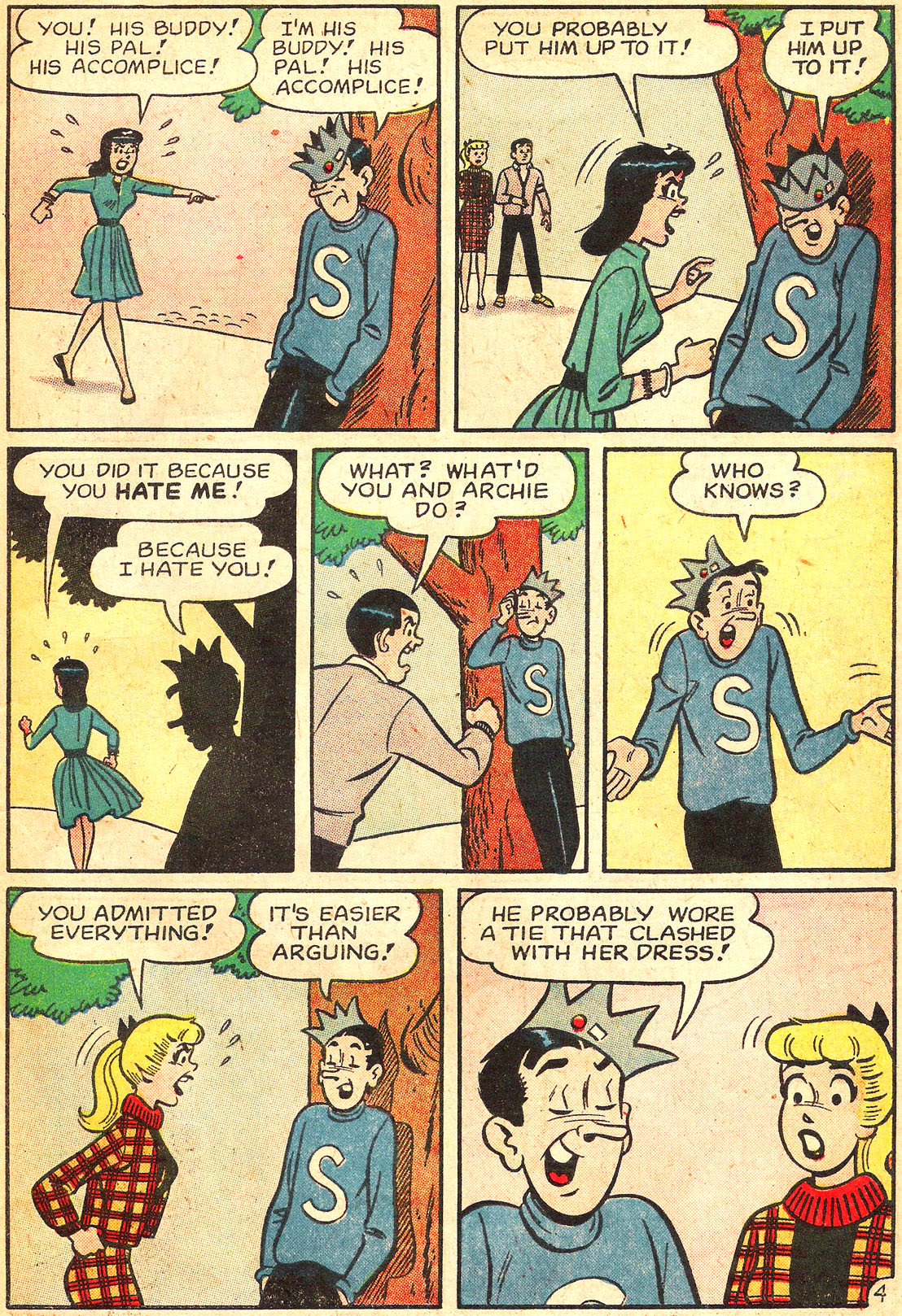 Read online Archie's Girls Betty and Veronica comic -  Issue #87 - 23