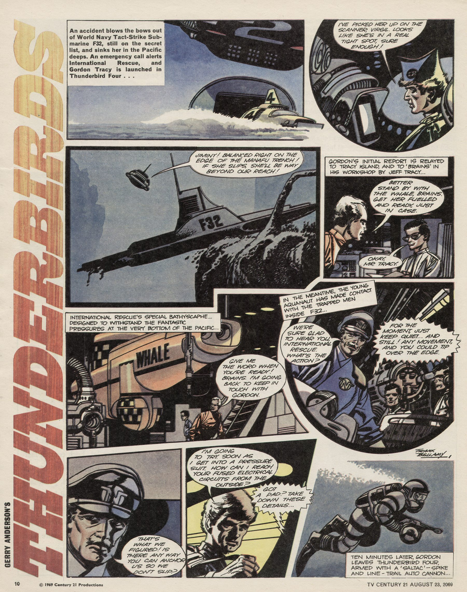Read online TV Century 21 (TV 21) comic -  Issue #240 - 10