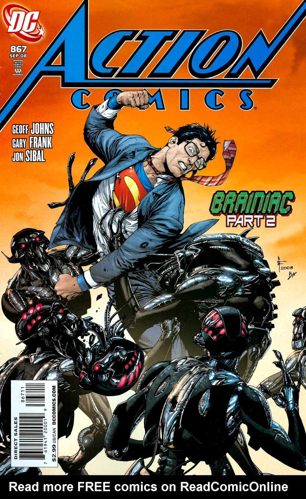 Action Comics (1938) 867 Page 1