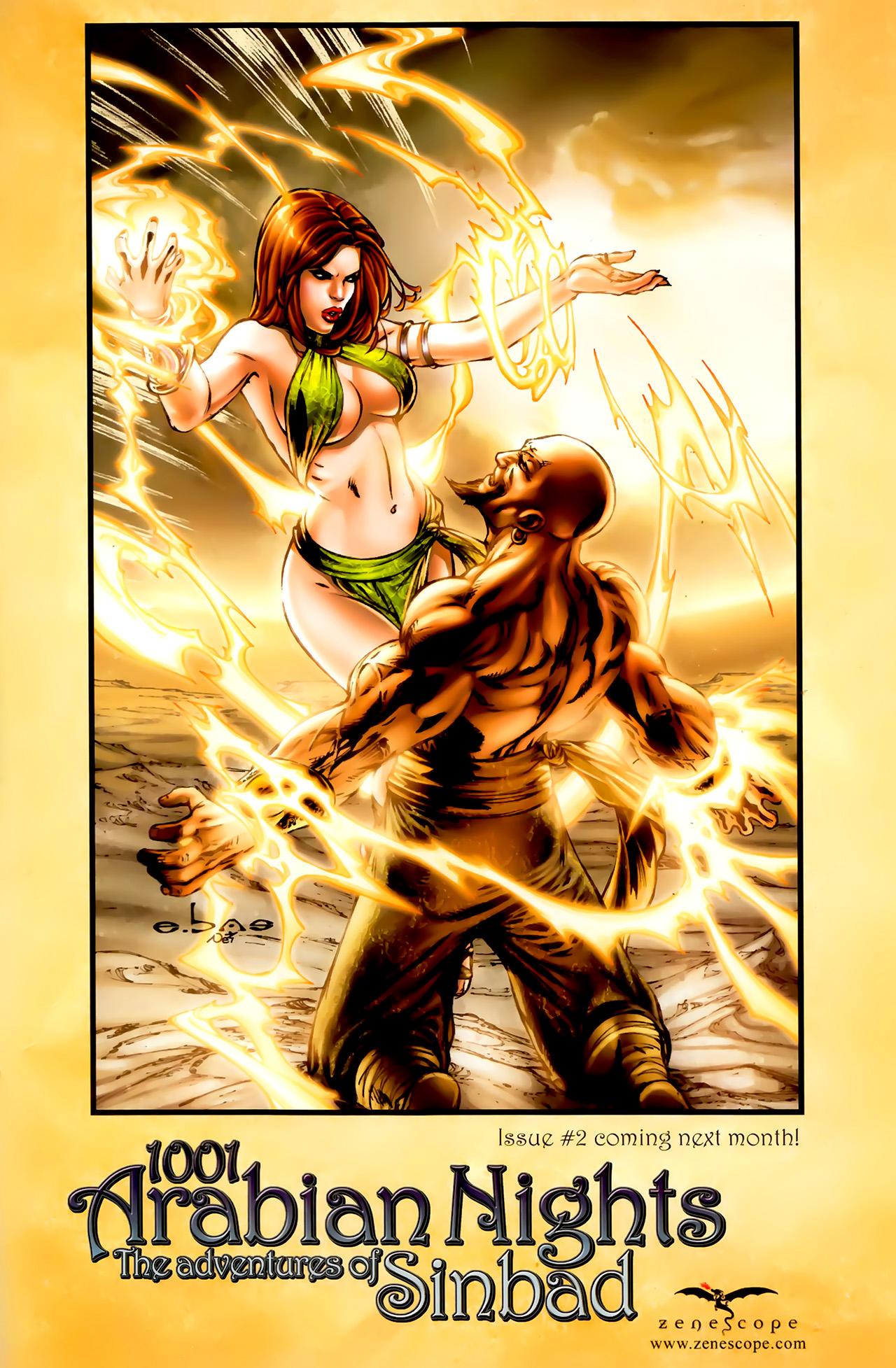 Read online 1001 Arabian Nights: The Adventures of Sinbad comic -  Issue #1 - 28