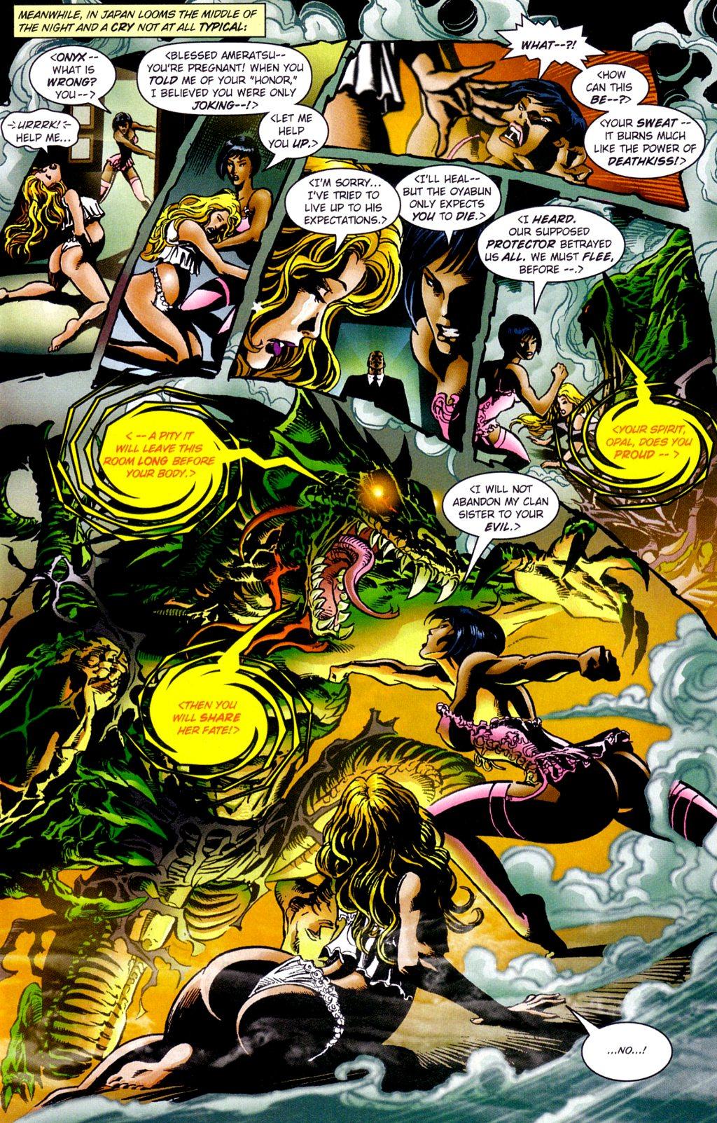 Read online Jade Warriors comic -  Issue #3 - 12