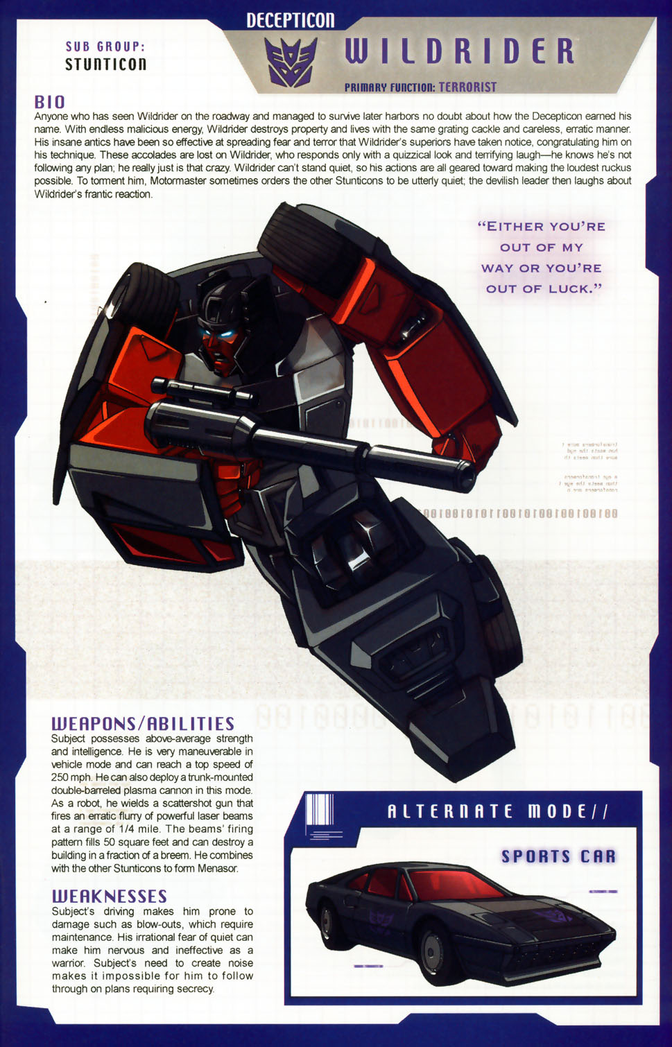 Read online Transformers: More than Meets the Eye comic -  Issue #6 - 55
