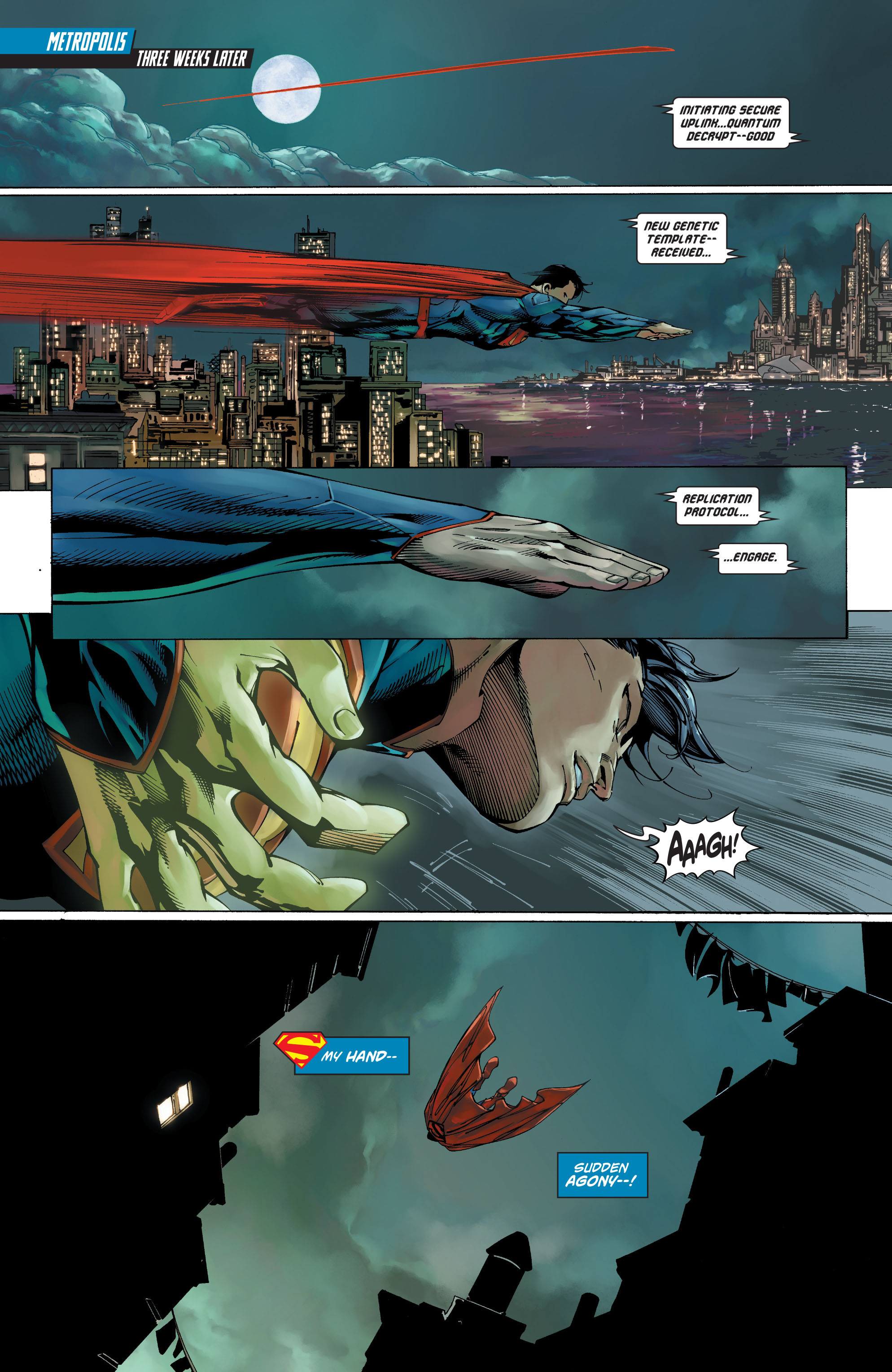Read online Action Comics (2011) comic -  Issue #19 - 24