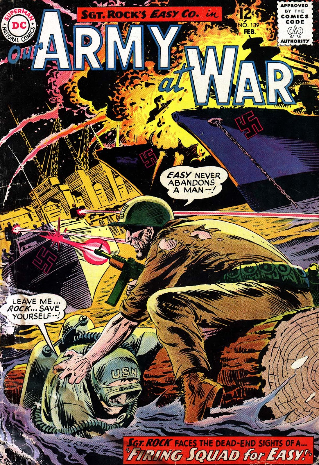 Our Army at War (1952) issue 139 - Page 1