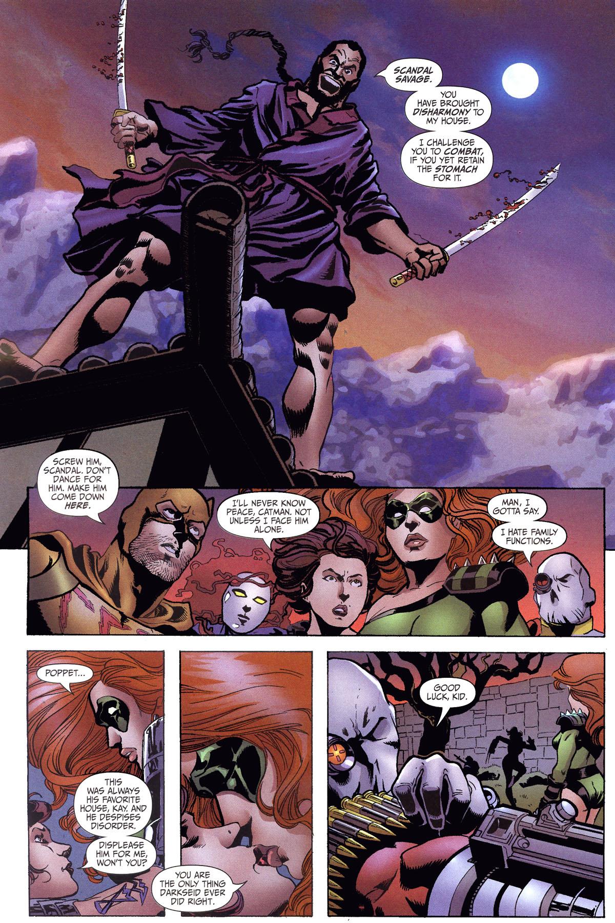 Read online Secret Six (2006) comic -  Issue #6 - 12