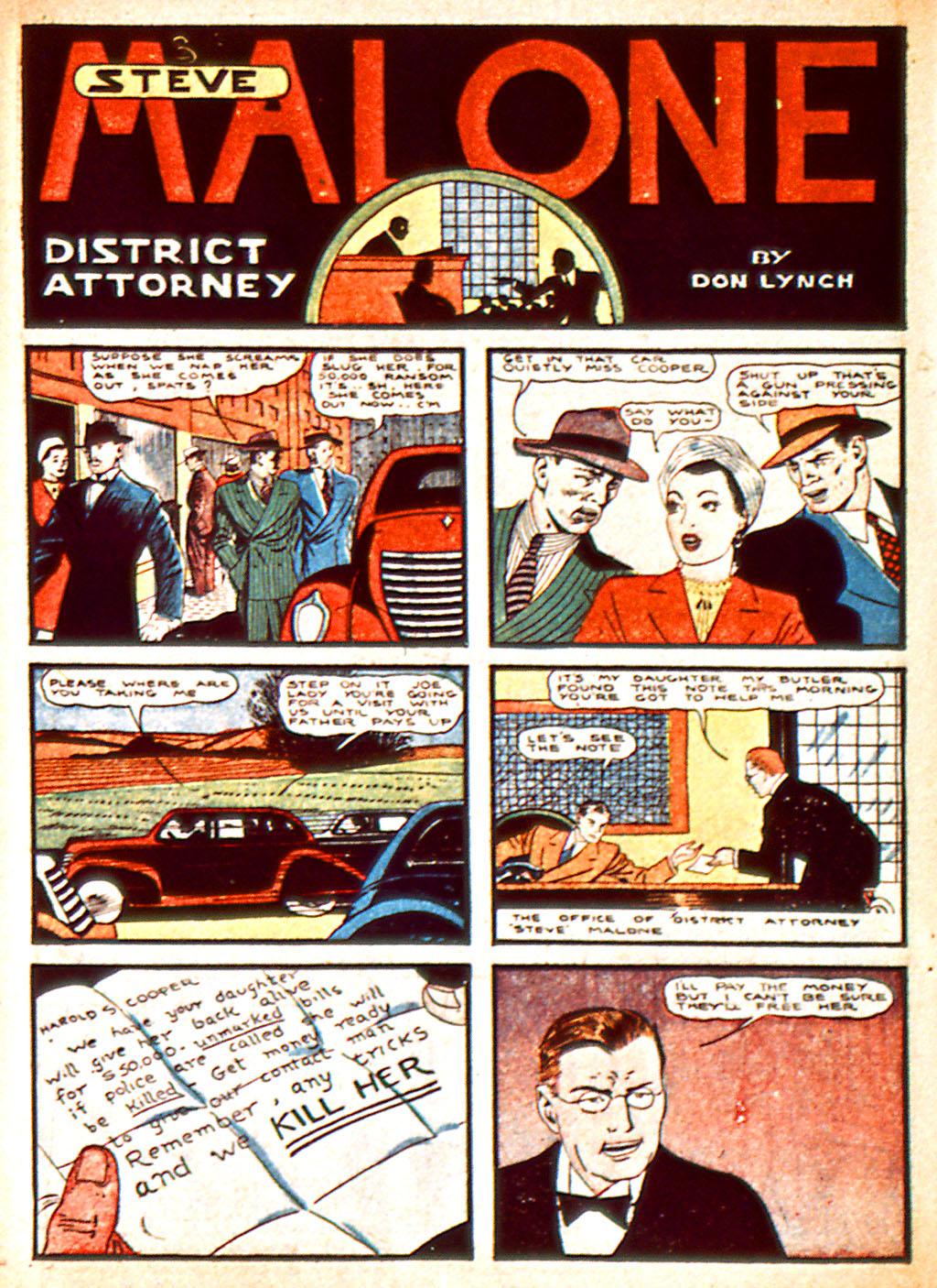 Read online Detective Comics (1937) comic -  Issue #37 - 43