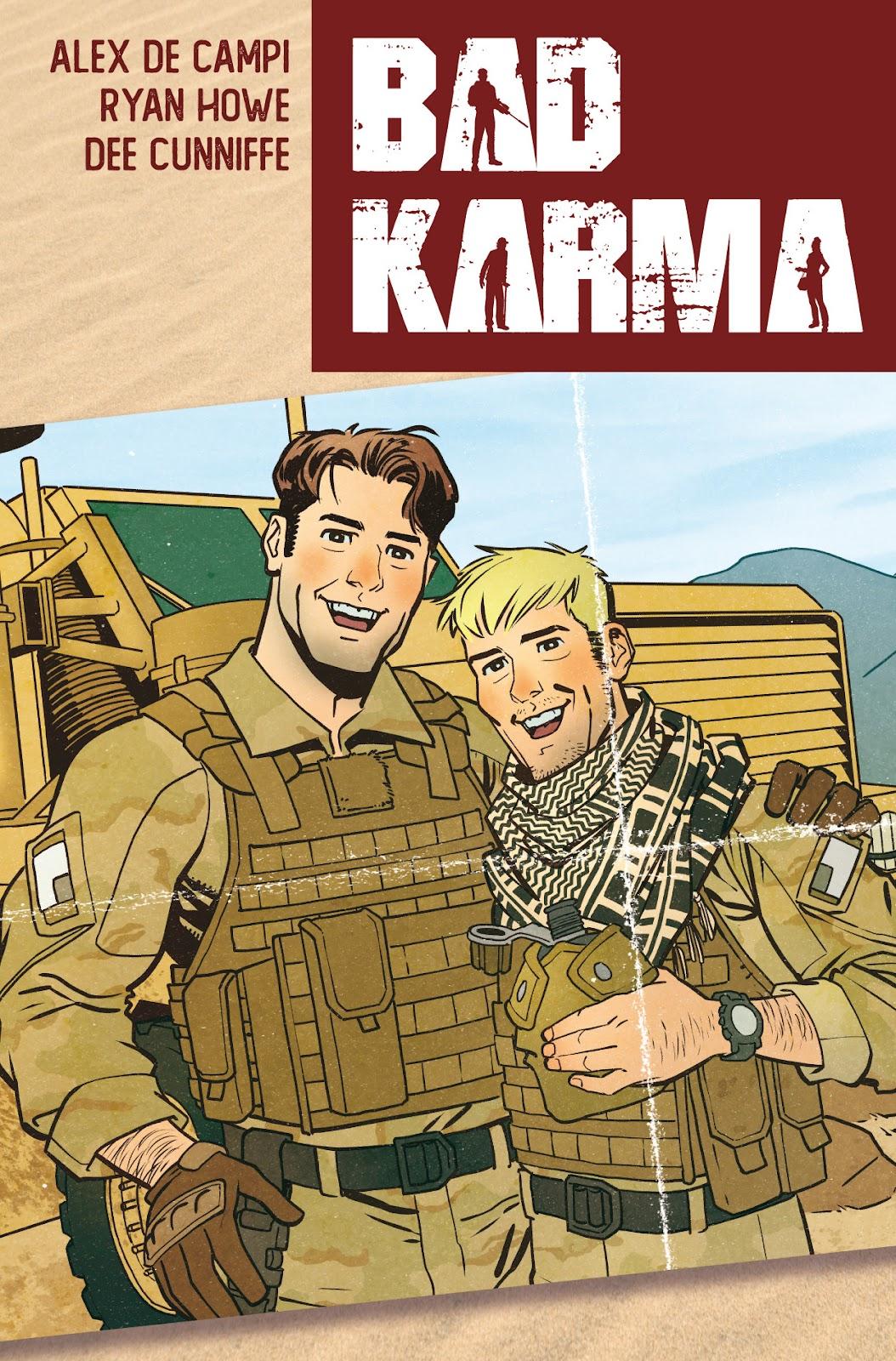 Bad Karma 1 Page 1