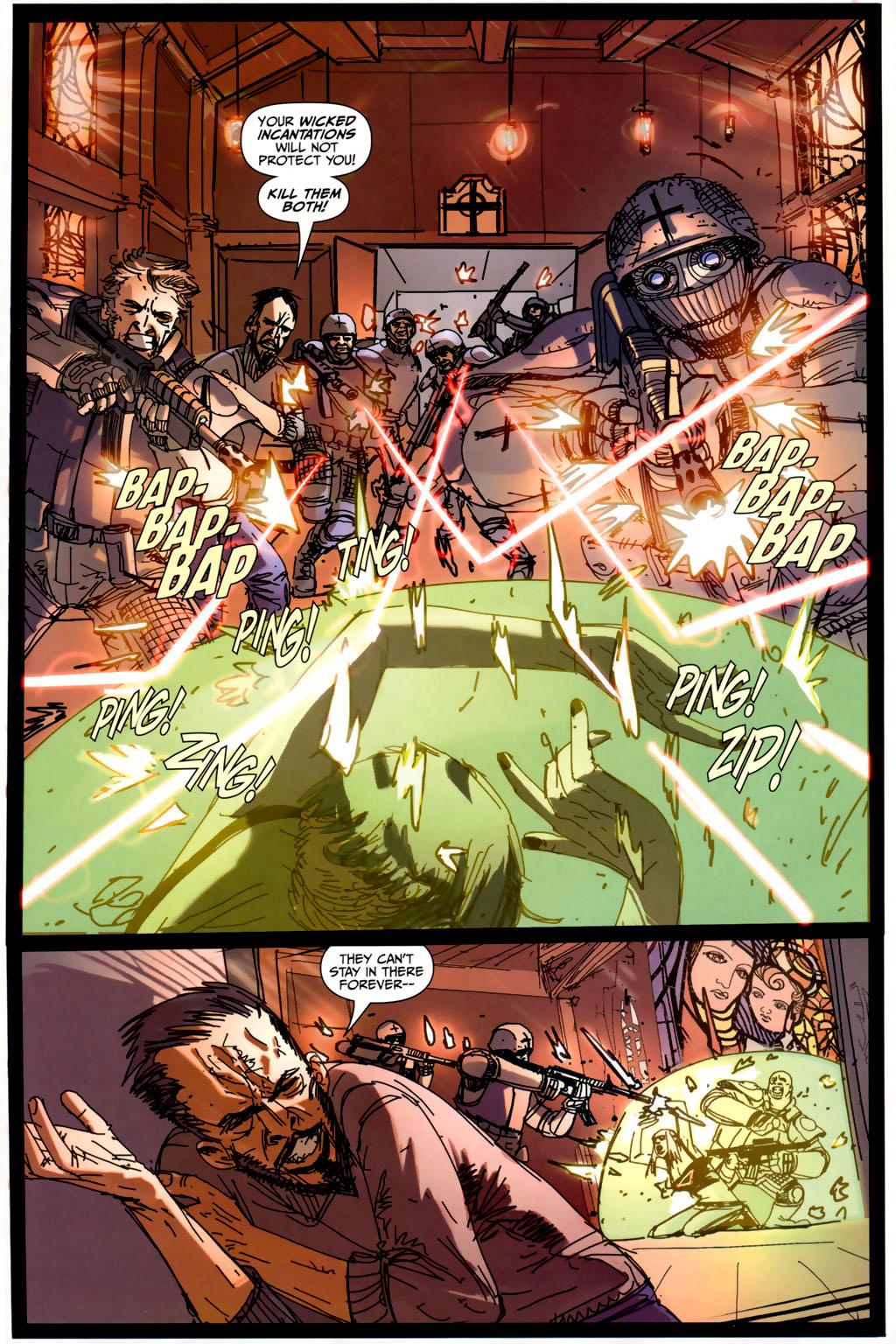 Read online Strange Girl comic -  Issue #6 - 20