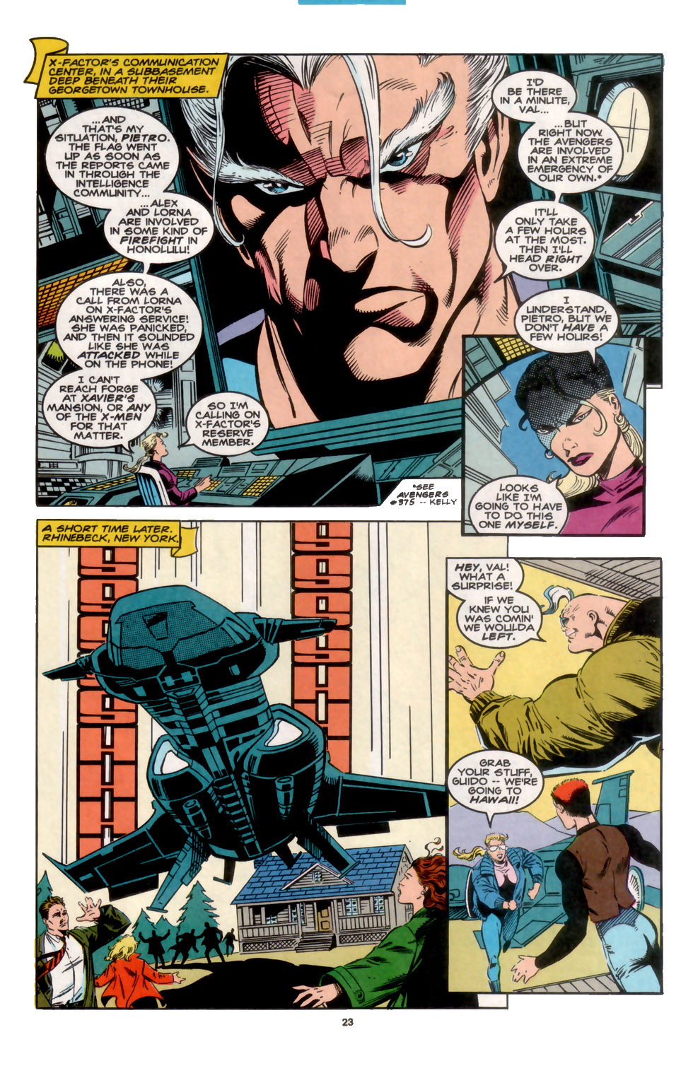 Read online X-Factor (1986) comic -  Issue #104 - 19