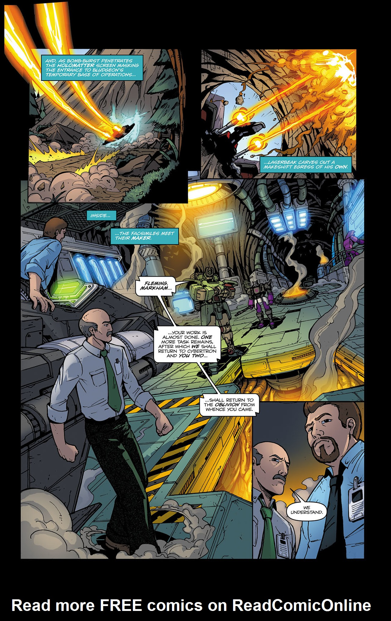 Read online Transformers Spotlight: Soundwave comic -  Issue # Full - 11