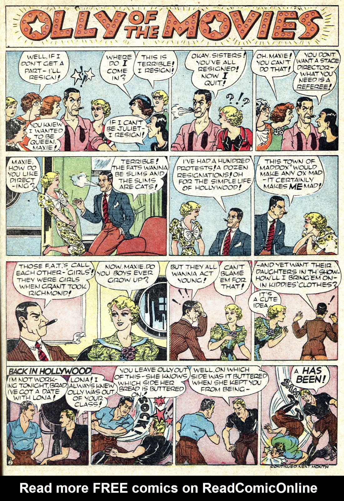 Read online Famous Funnies comic -  Issue #66 - 45
