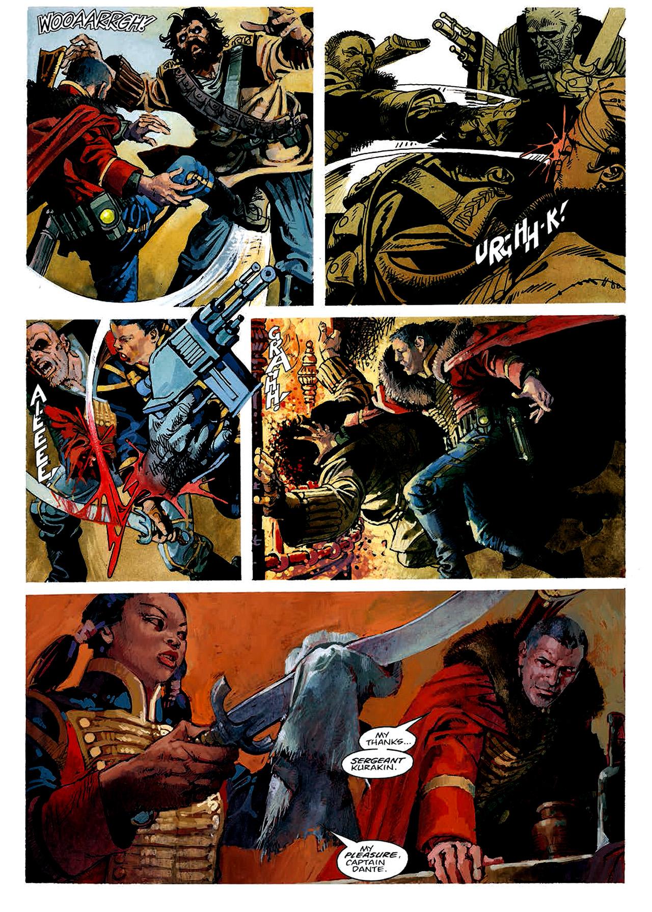 Read online Nikolai Dante comic -  Issue # TPB 4 - 21