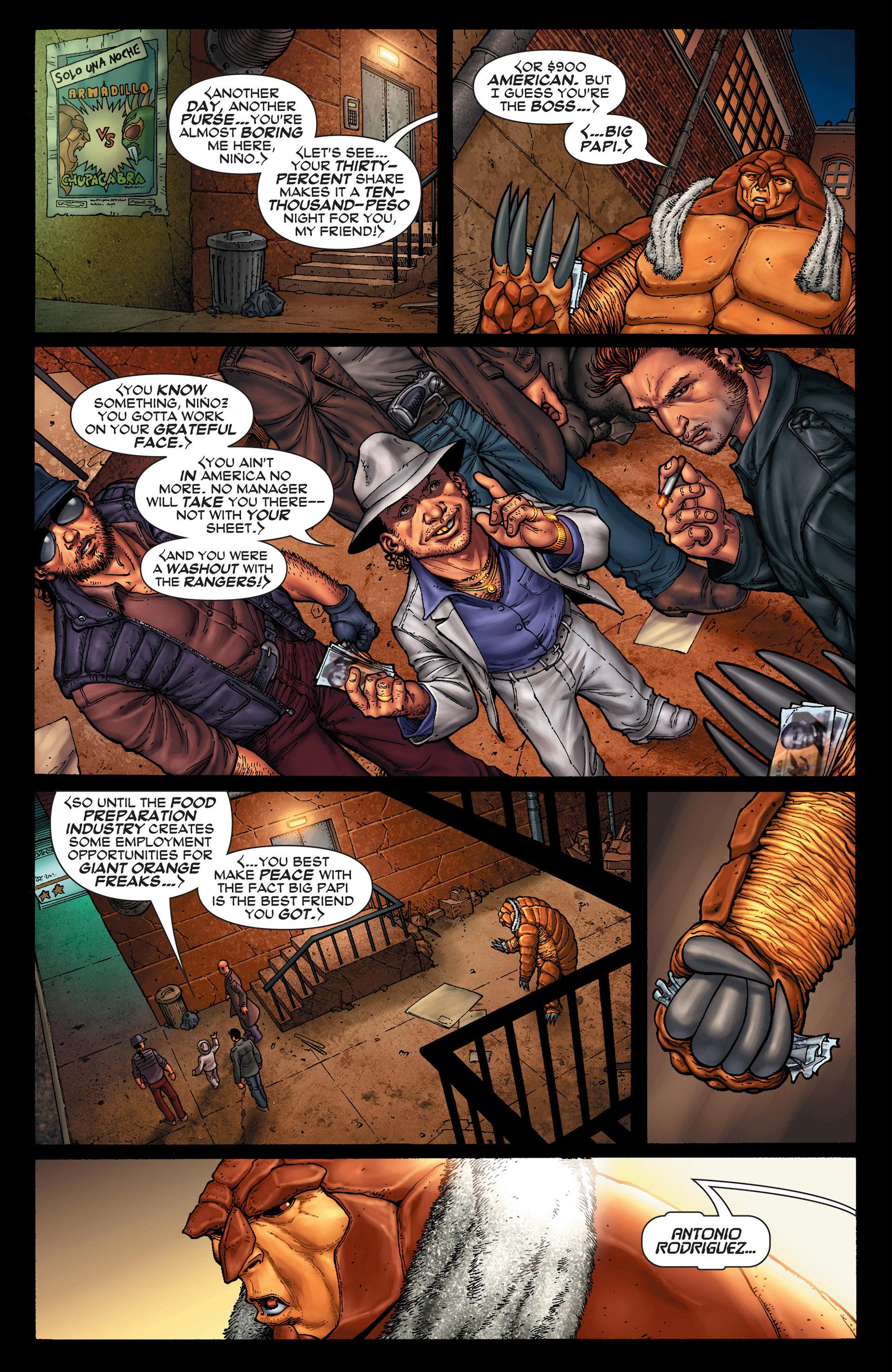 Read online Super-Villain Team-Up/MODOK's 11 comic -  Issue #1 - 8