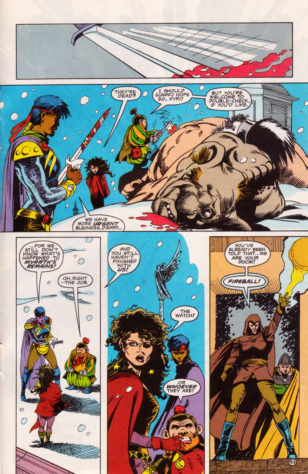 Read online Advanced Dungeons & Dragons comic -  Issue #5 - 24