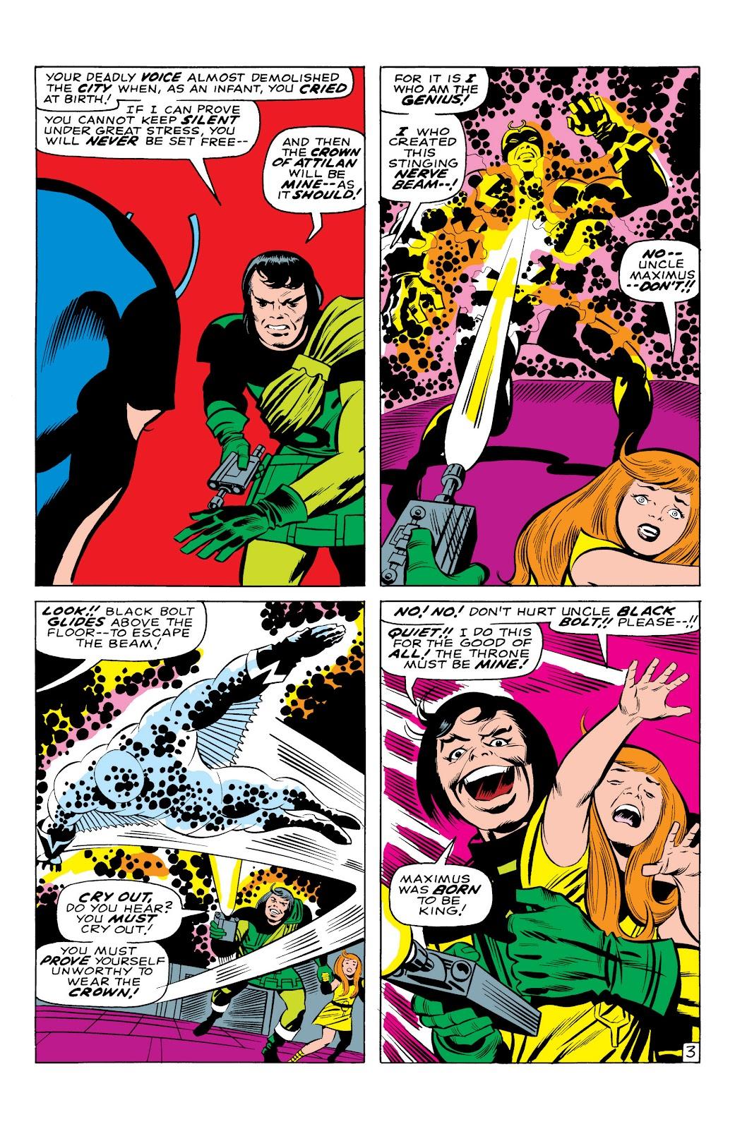 Read online Marvel Masterworks: The Inhumans comic -  Issue # TPB 1 (Part 1) - 25