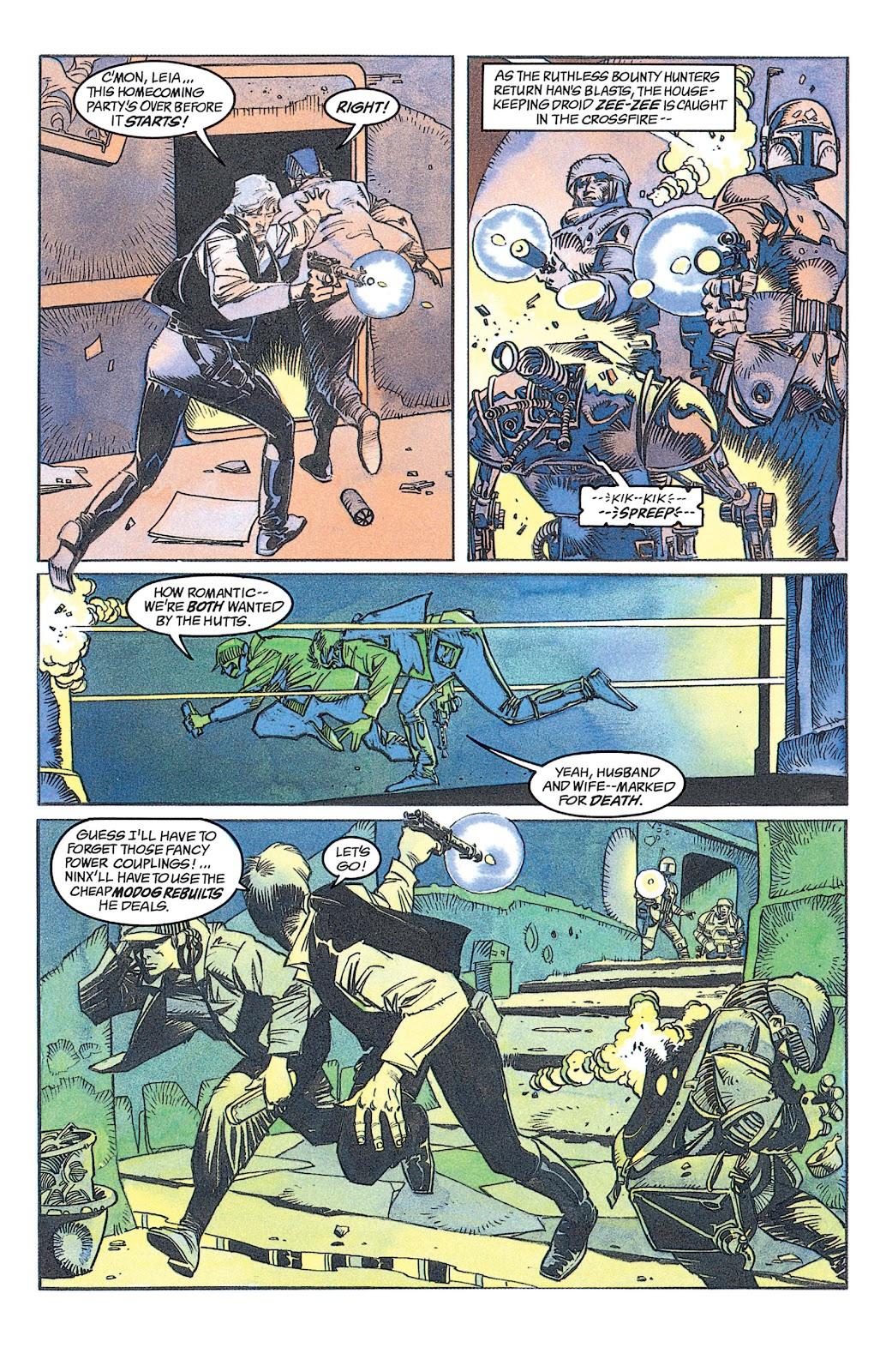 Read online Star Wars: Dark Empire Trilogy comic -  Issue # TPB (Part 1) - 83