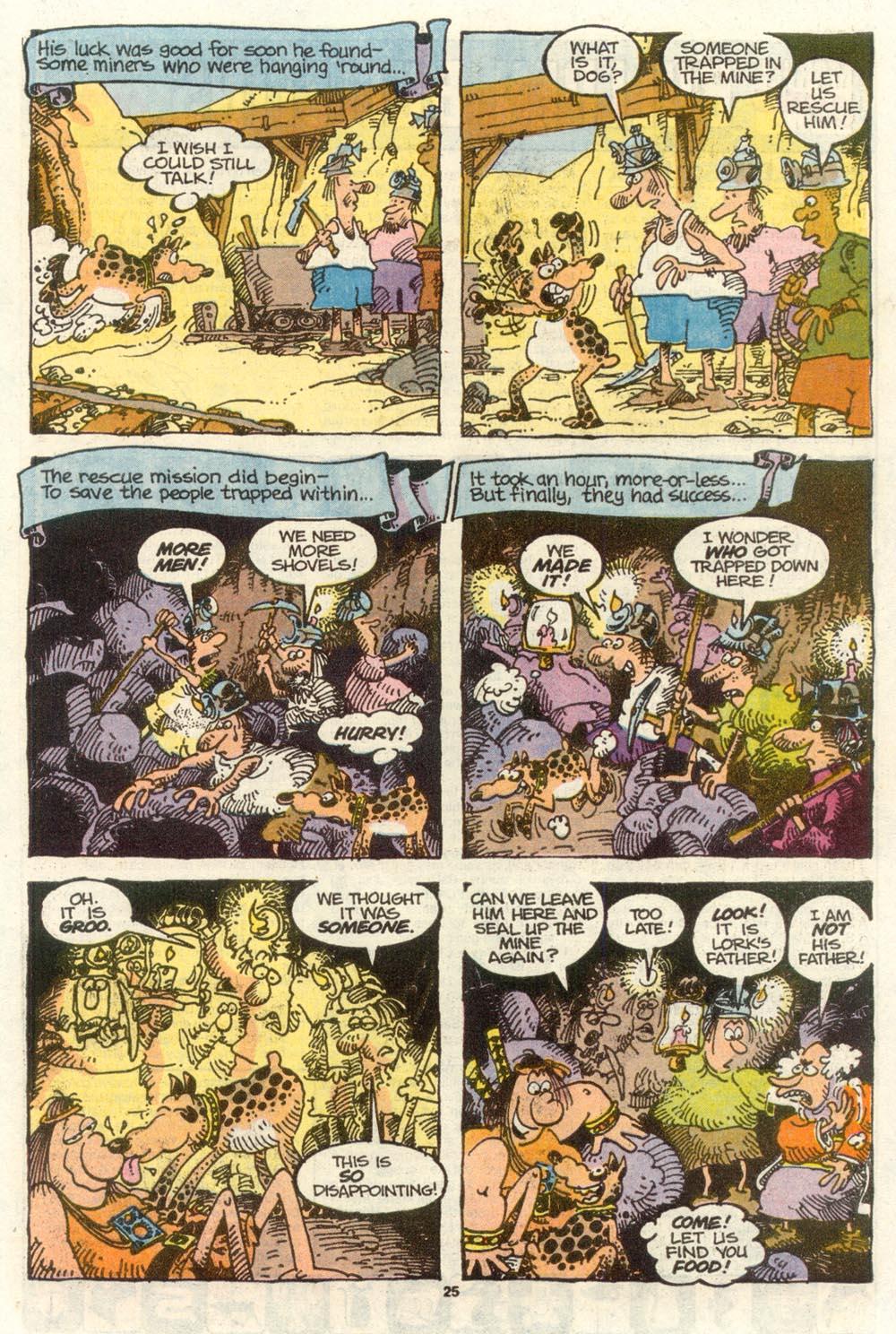 Read online Sergio Aragonés Groo the Wanderer comic -  Issue #77 - 19