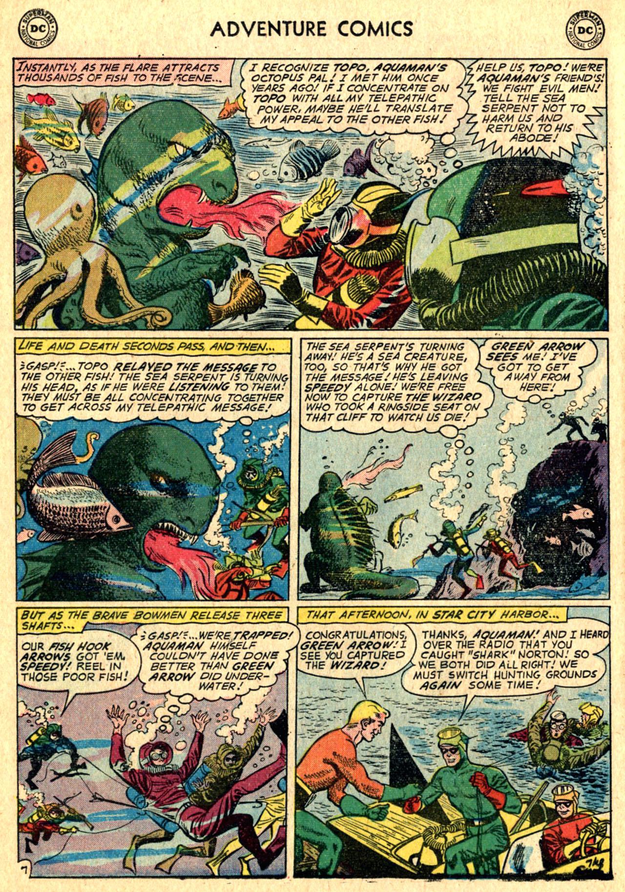 Read online Adventure Comics (1938) comic -  Issue #267 - 32