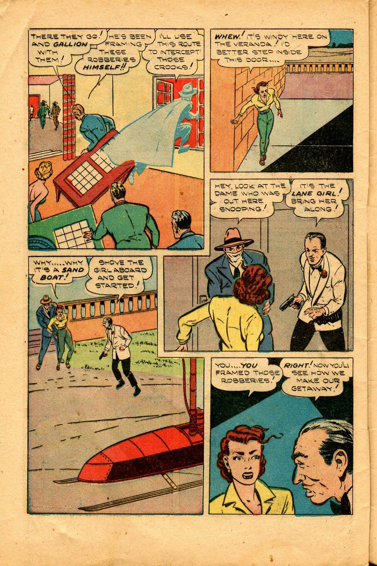 Read online Shadow Comics comic -  Issue #94 - 42