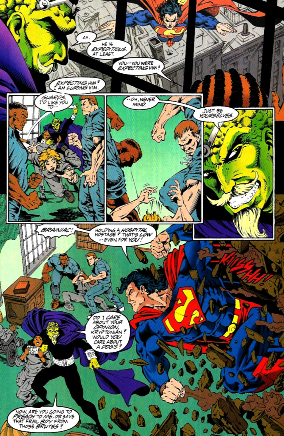 Read online Adventures of Superman (1987) comic -  Issue #536 - 15
