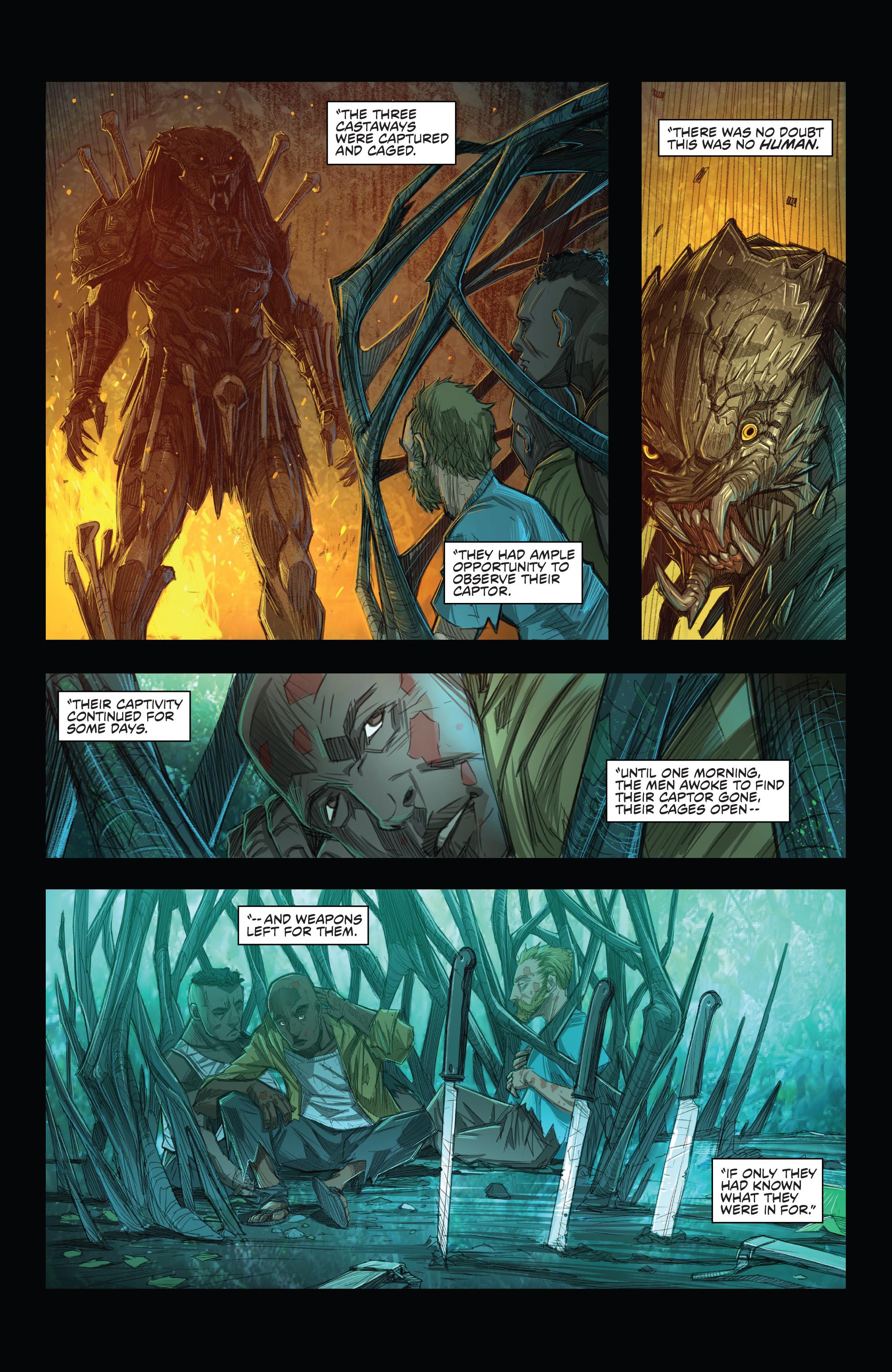 Read online Predator: Hunters comic -  Issue #2 - 11