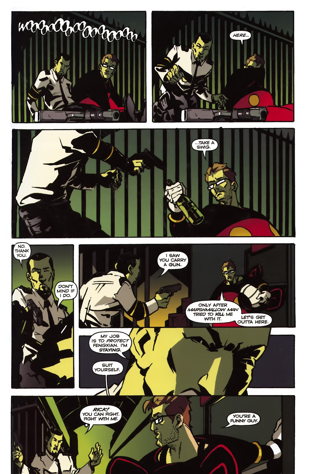 Read online Ricky Rouse Has A Gun comic -  Issue # TPB (Part 1) - 84