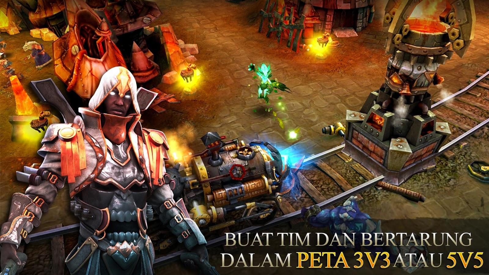 Free Download Heroes of Order & Chaos Apk Mod V2.2.0j Terbaru 2015